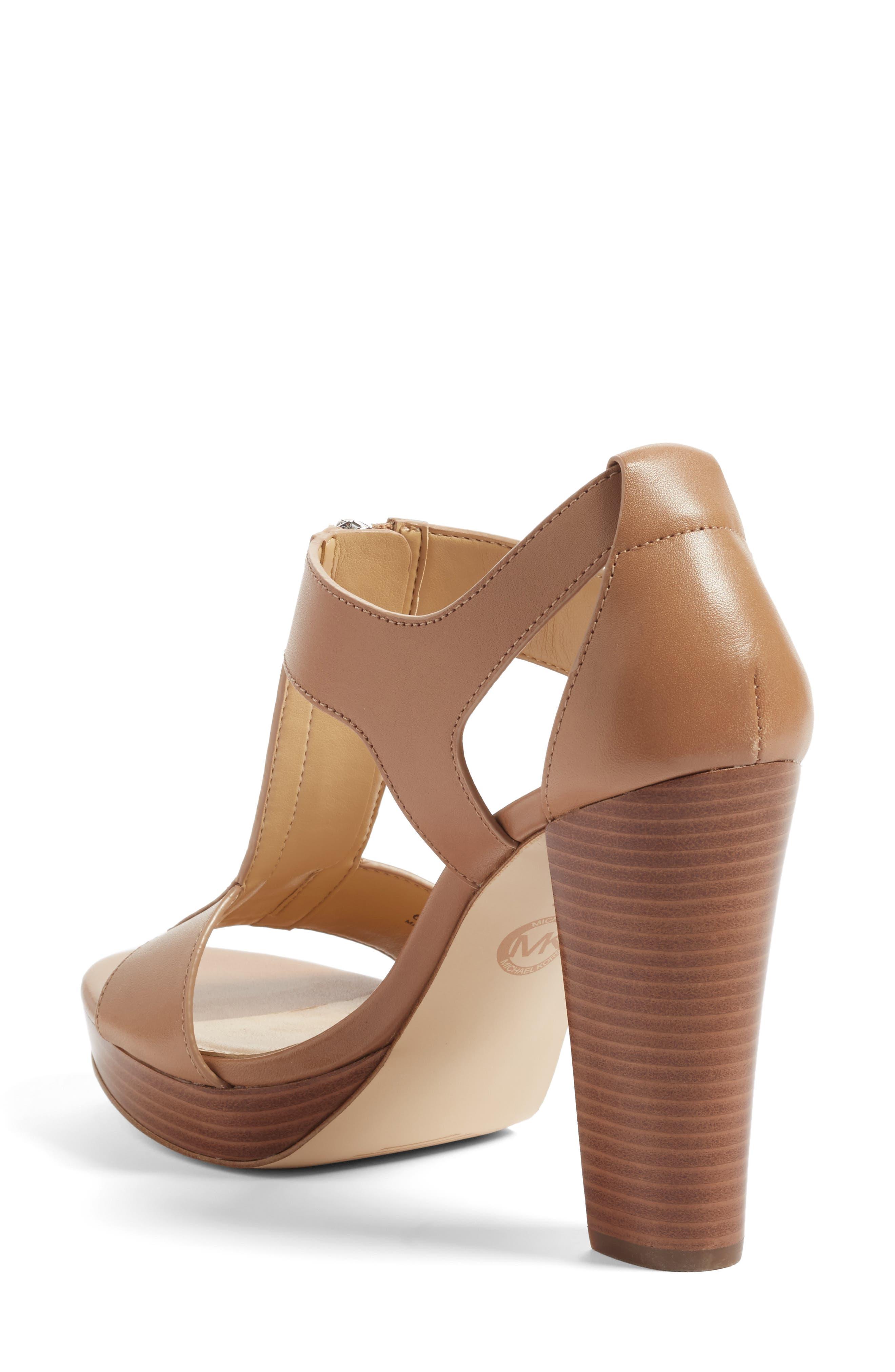 Alternate Image 2  - MICHAEL Michael Kors 'Berkley' T-Strap Sandal (Women)