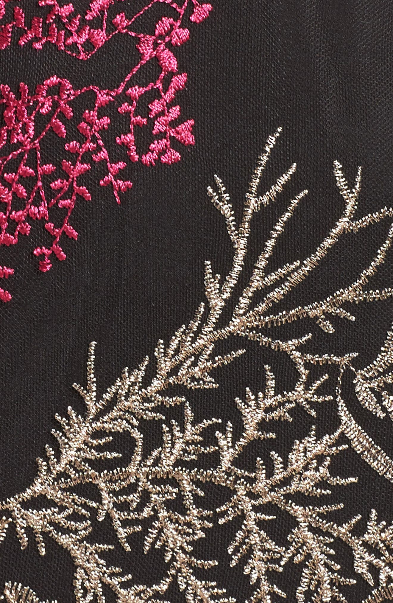 Alternate Image 6  - Jay Godfrey Henderson Embroidered Gown