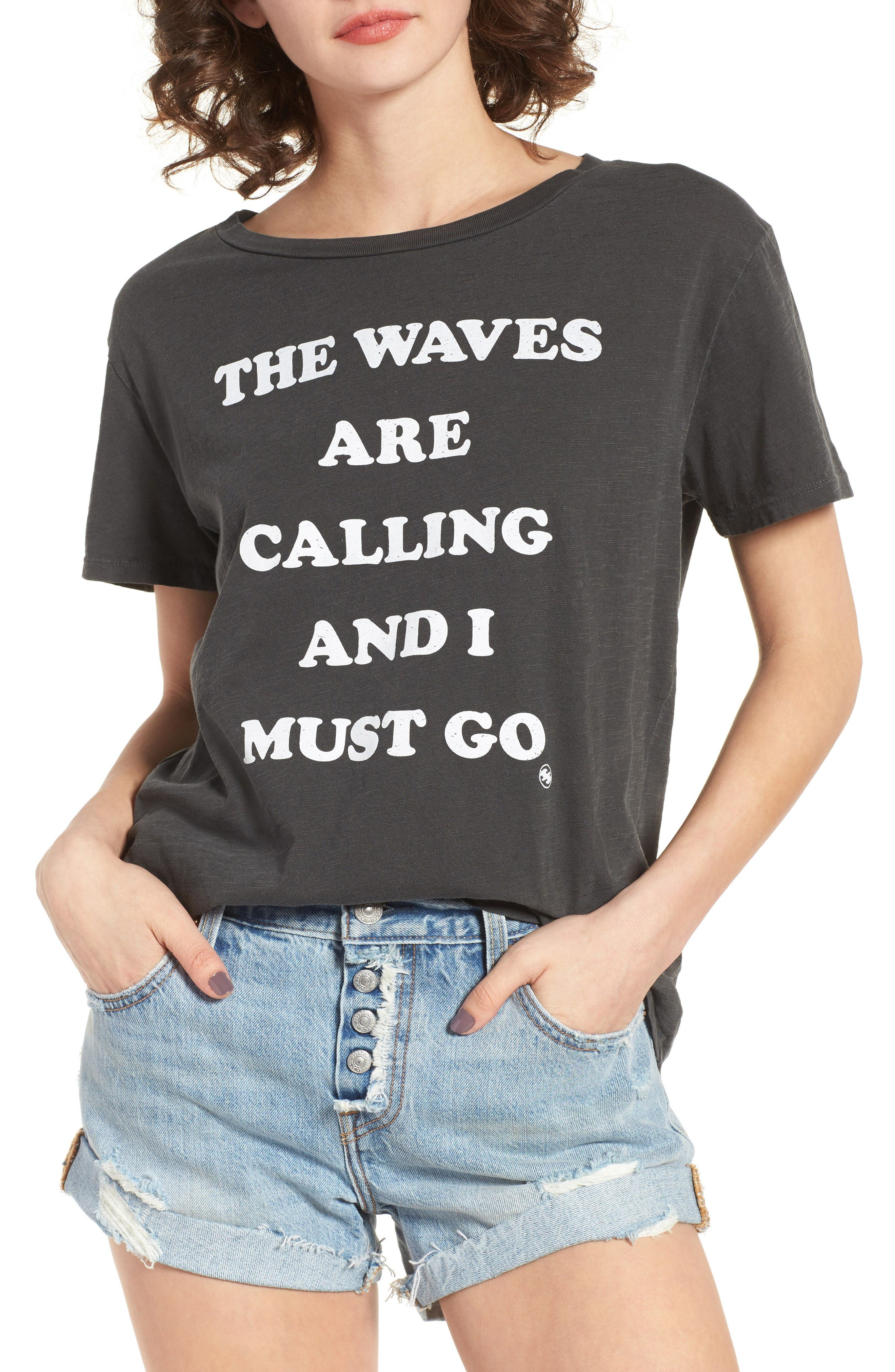Main Image - Billabong Must Go Graphic Tee
