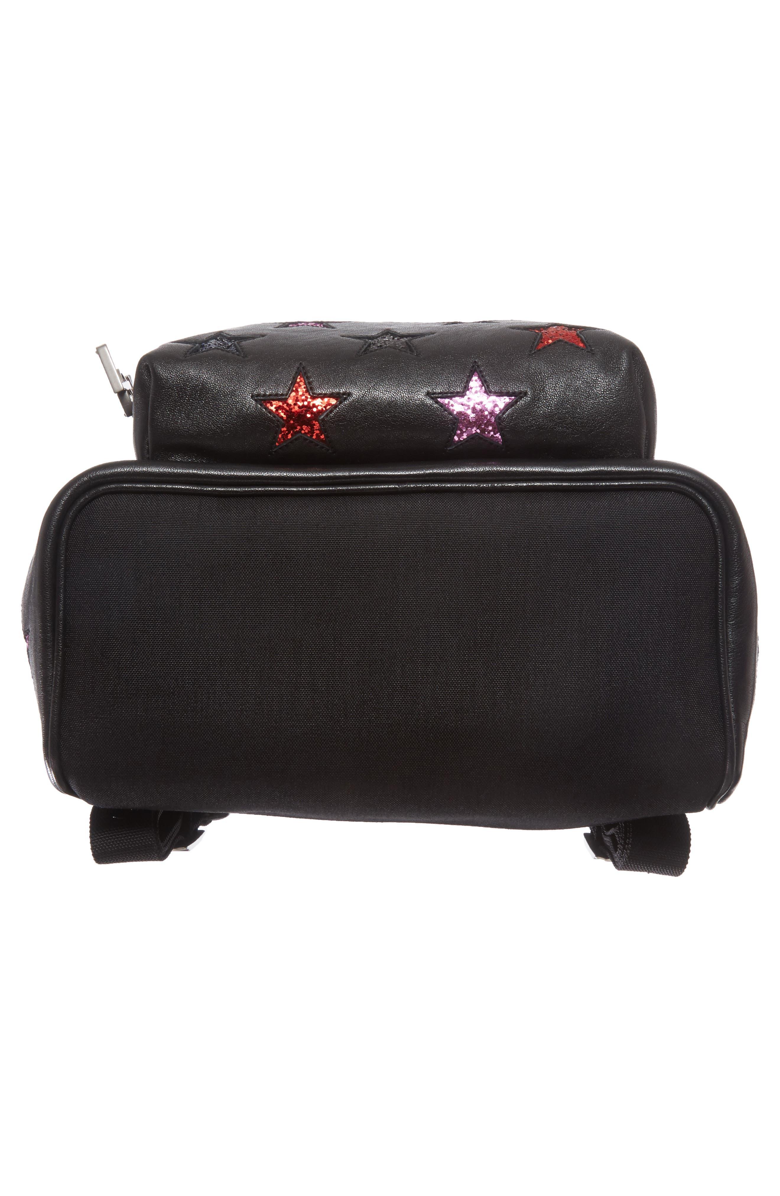 Alternate Image 6  - Saint Laurent Mini City California Star Leather Backpack