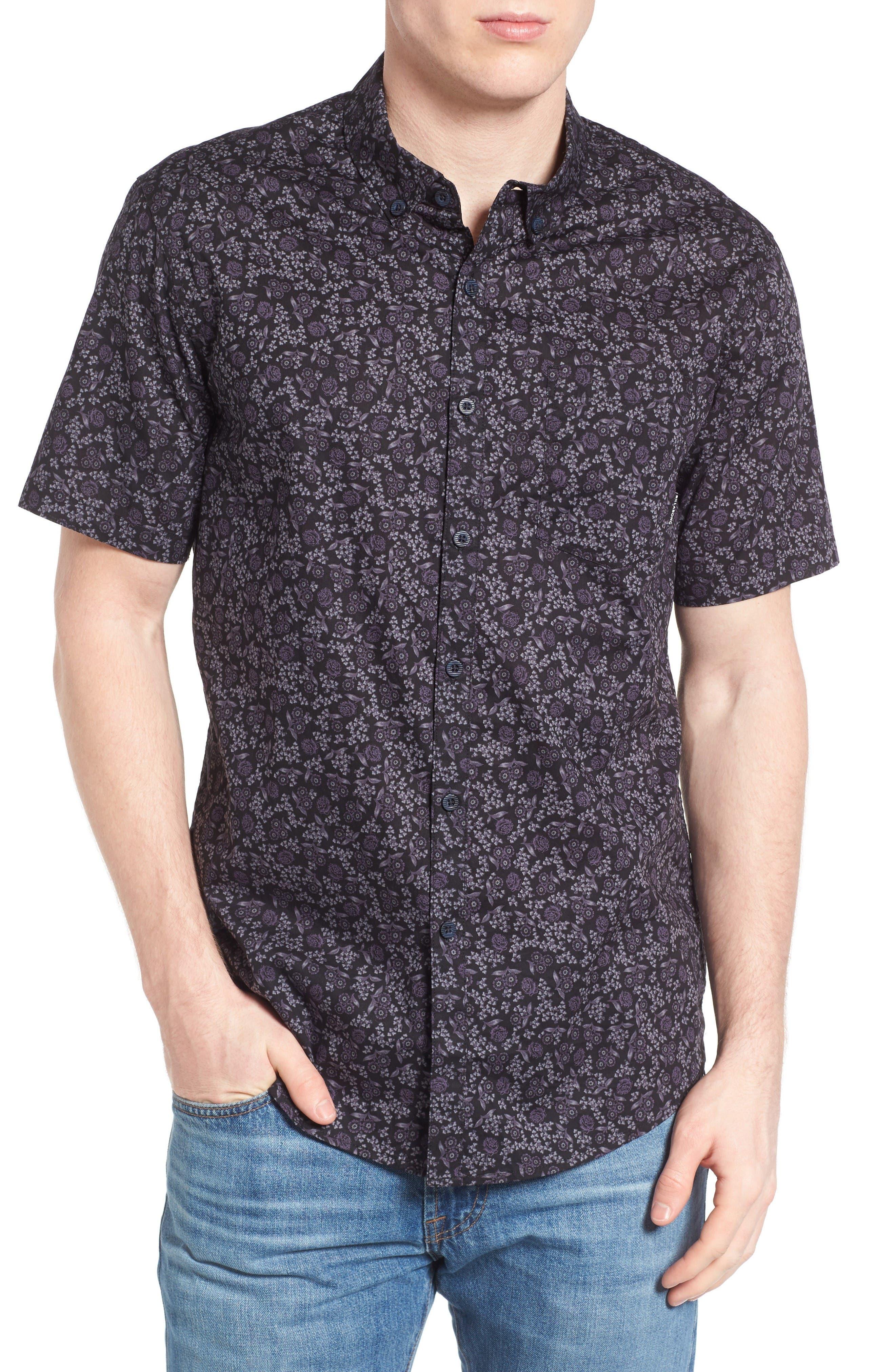 BILLABONG Marker Print Woven Shirt