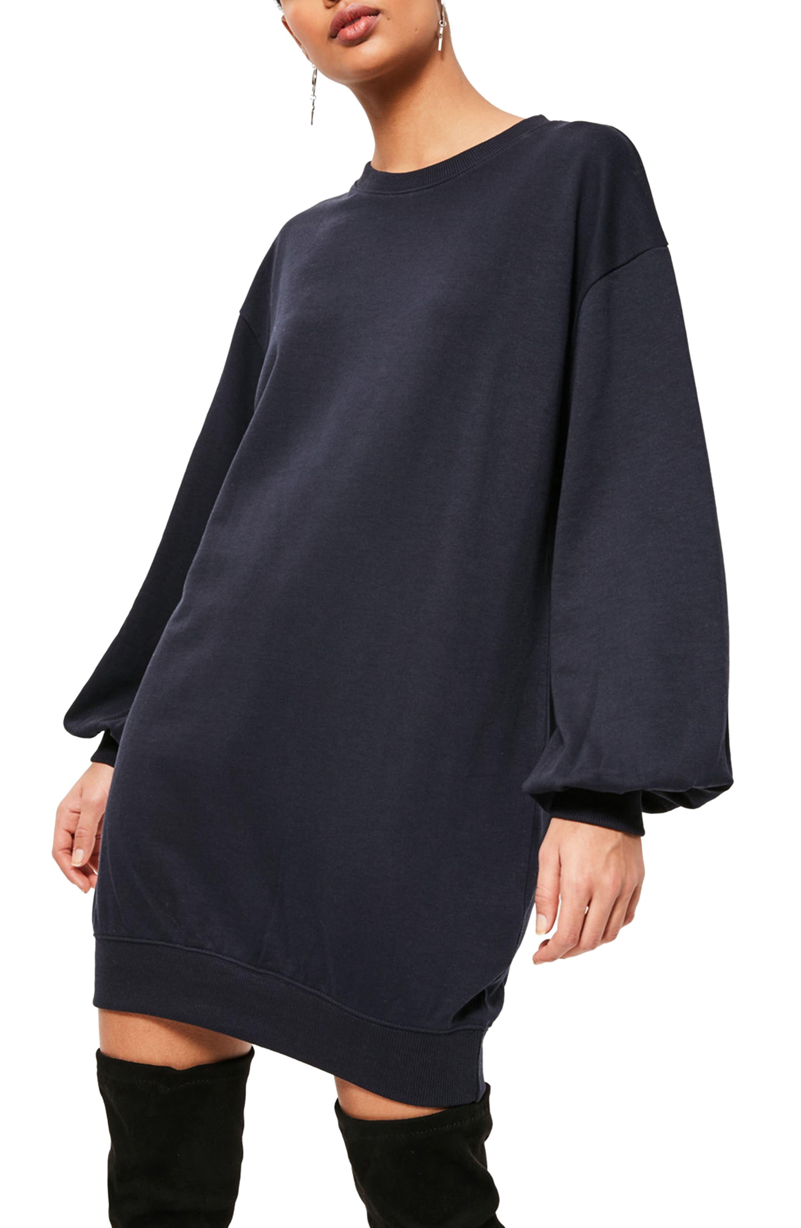 Alternate Image 3  - Missguided Balloon Sleeve Knit Dress
