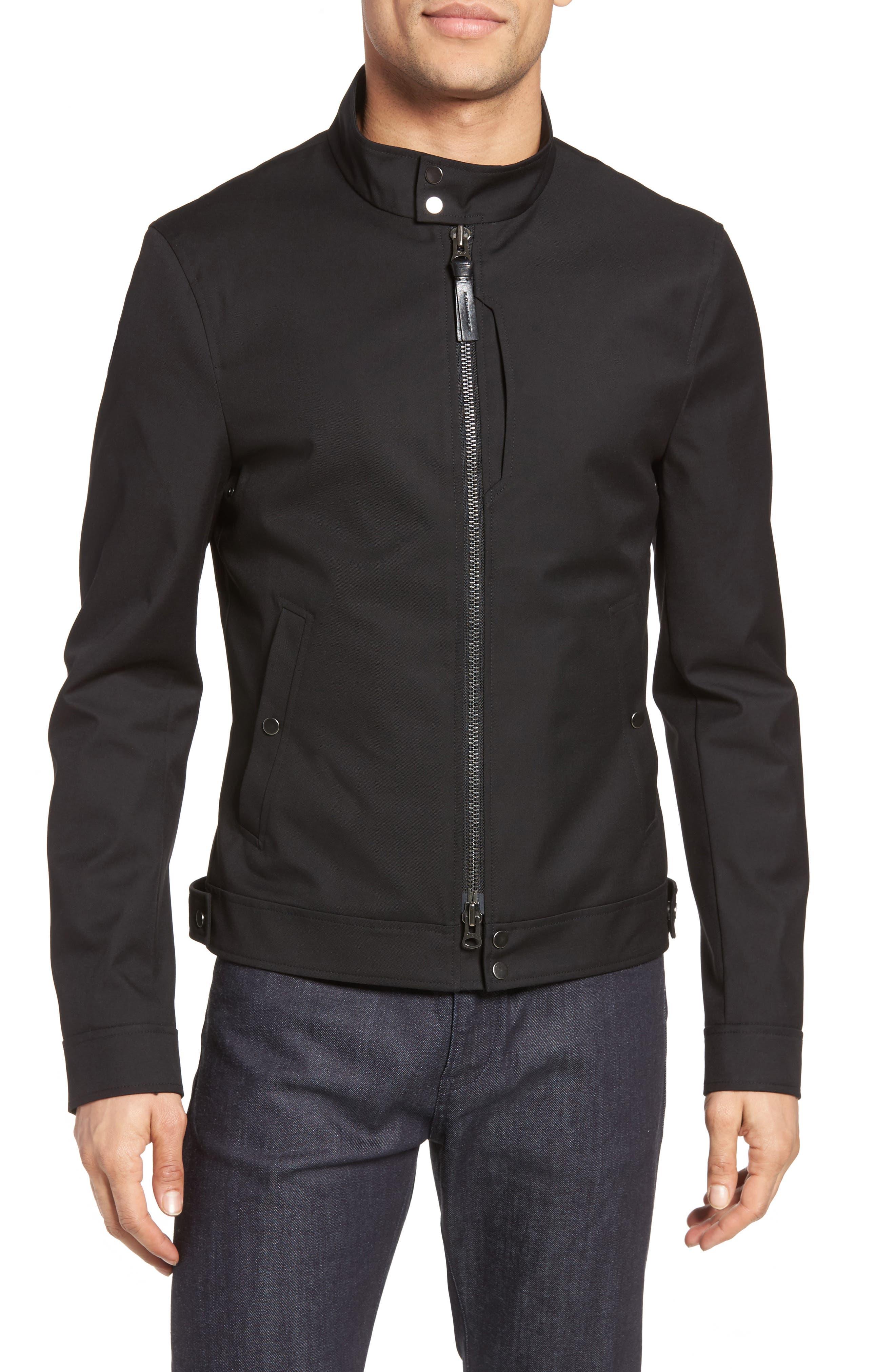 MACKAGE Twill Moto Jacket