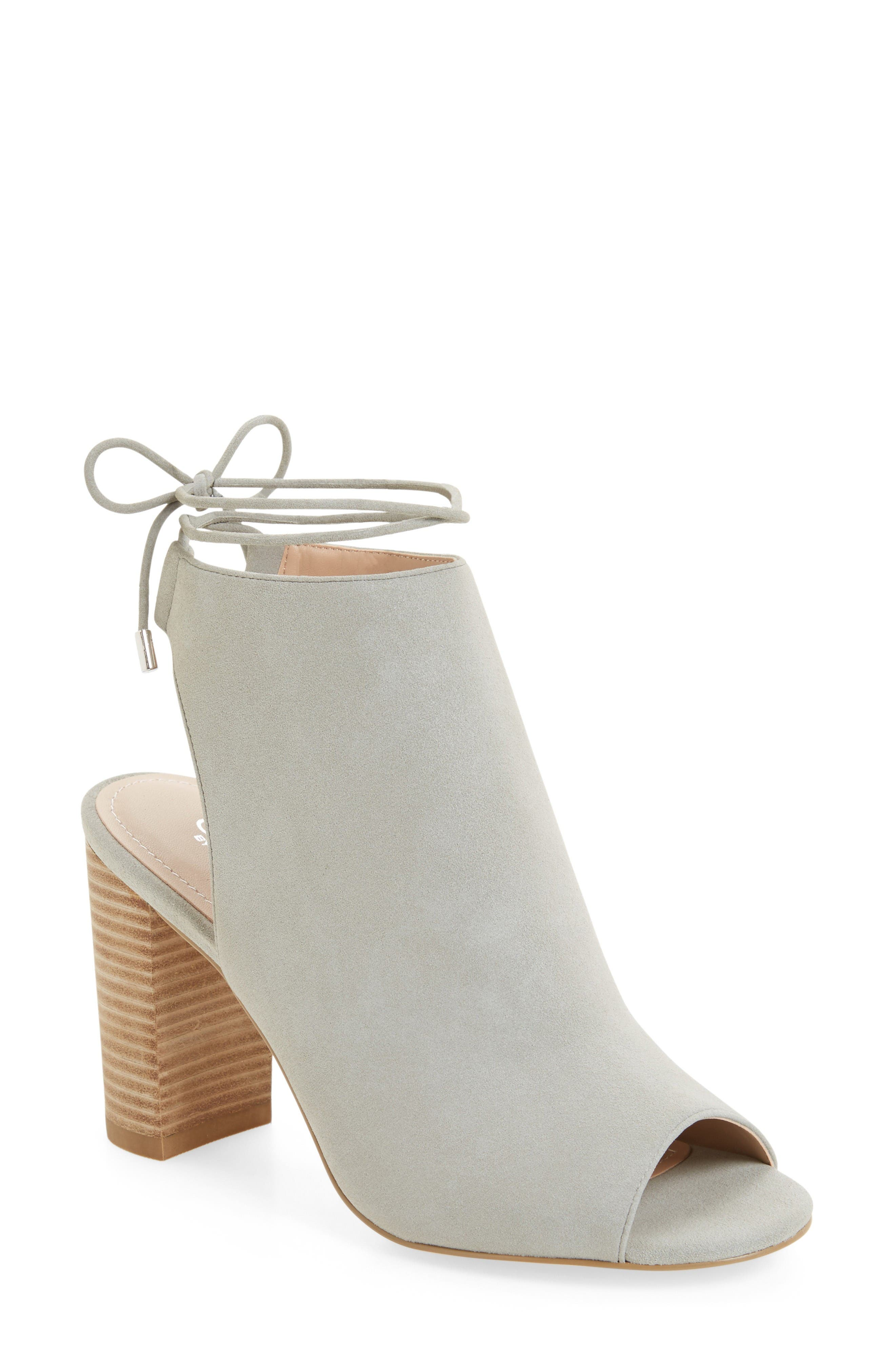 Alternate Image 1 Selected - Charles by Charles David Elista Ankle Wrap Sandal (Women)