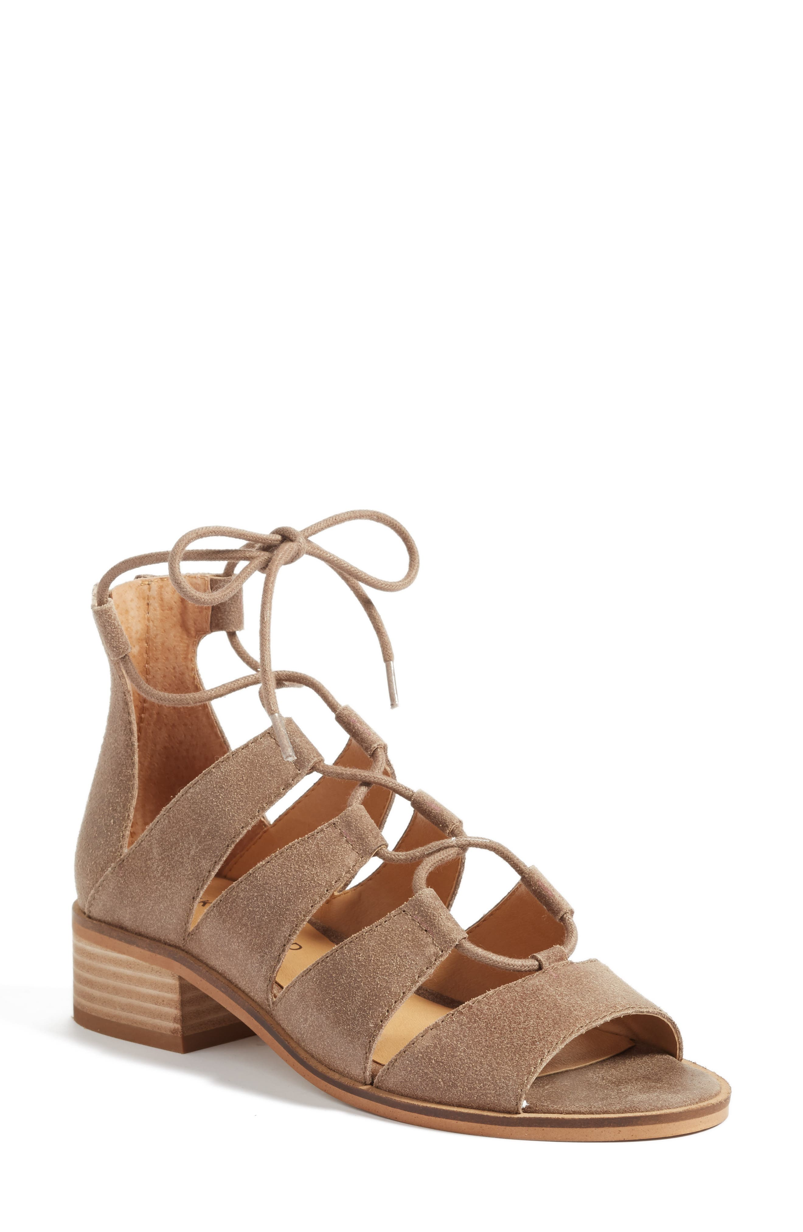 Lucky Brand Tazu Lace-Up Sandal (Women)