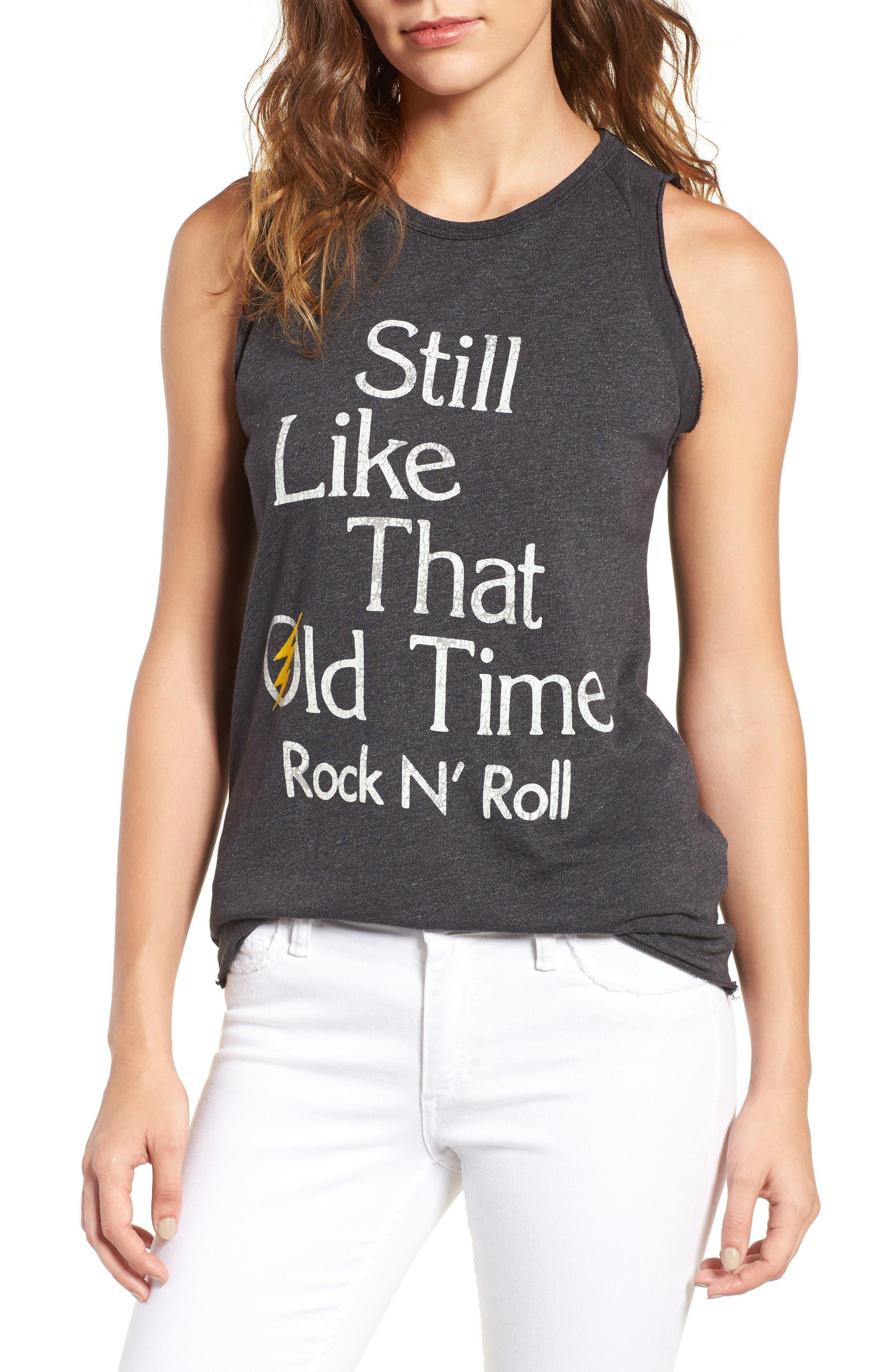 Alternate Image 1 Selected - Junk Food Old Time Rock 'N' Roll Tank