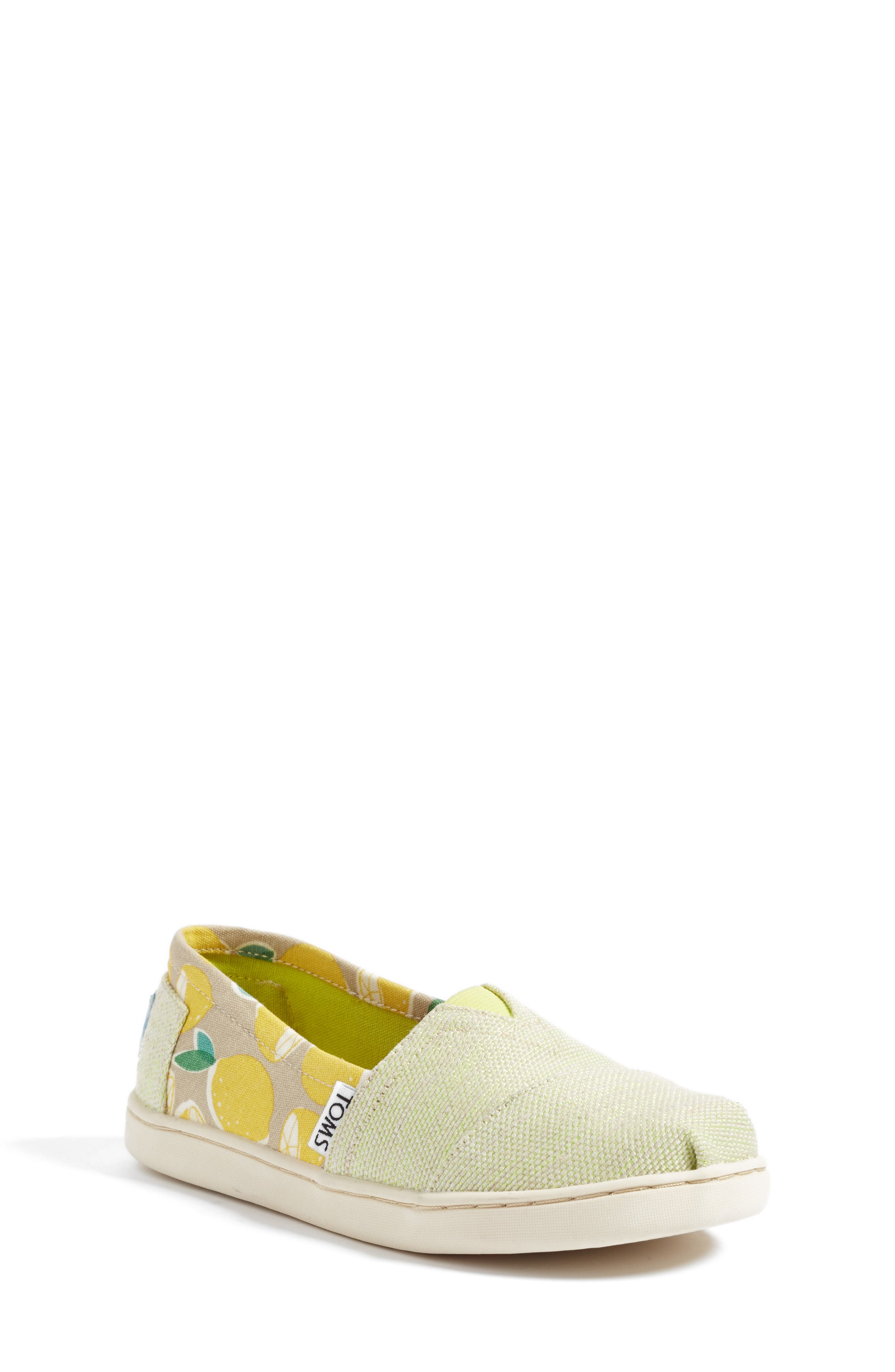 TOMS Classic Print Slip-On (Baby, Walker, Toddler, Little Kid & Big Kid)