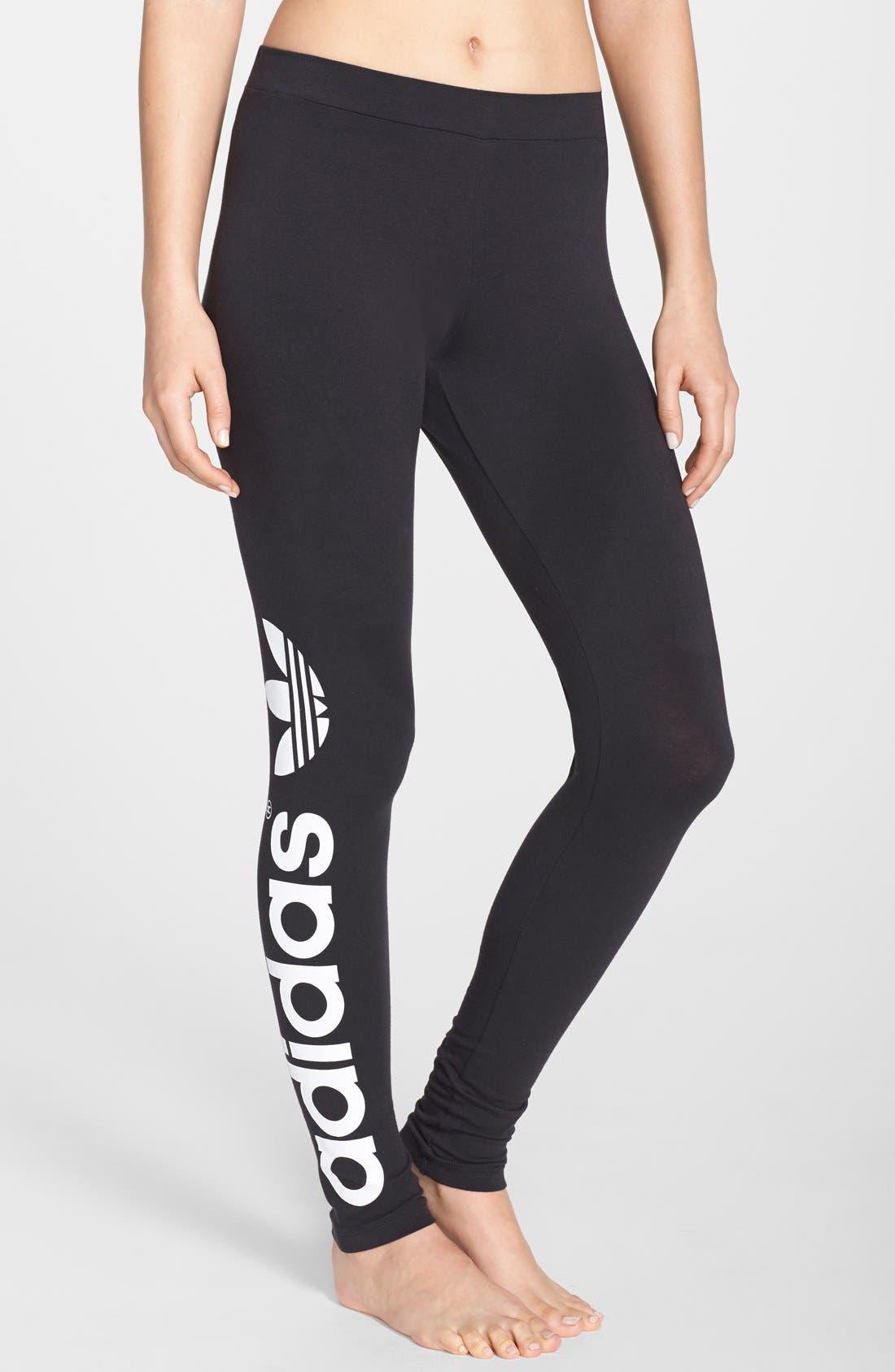 Alternate Image 1 Selected - adidas Originals Trefoil Leggings (Online Only)