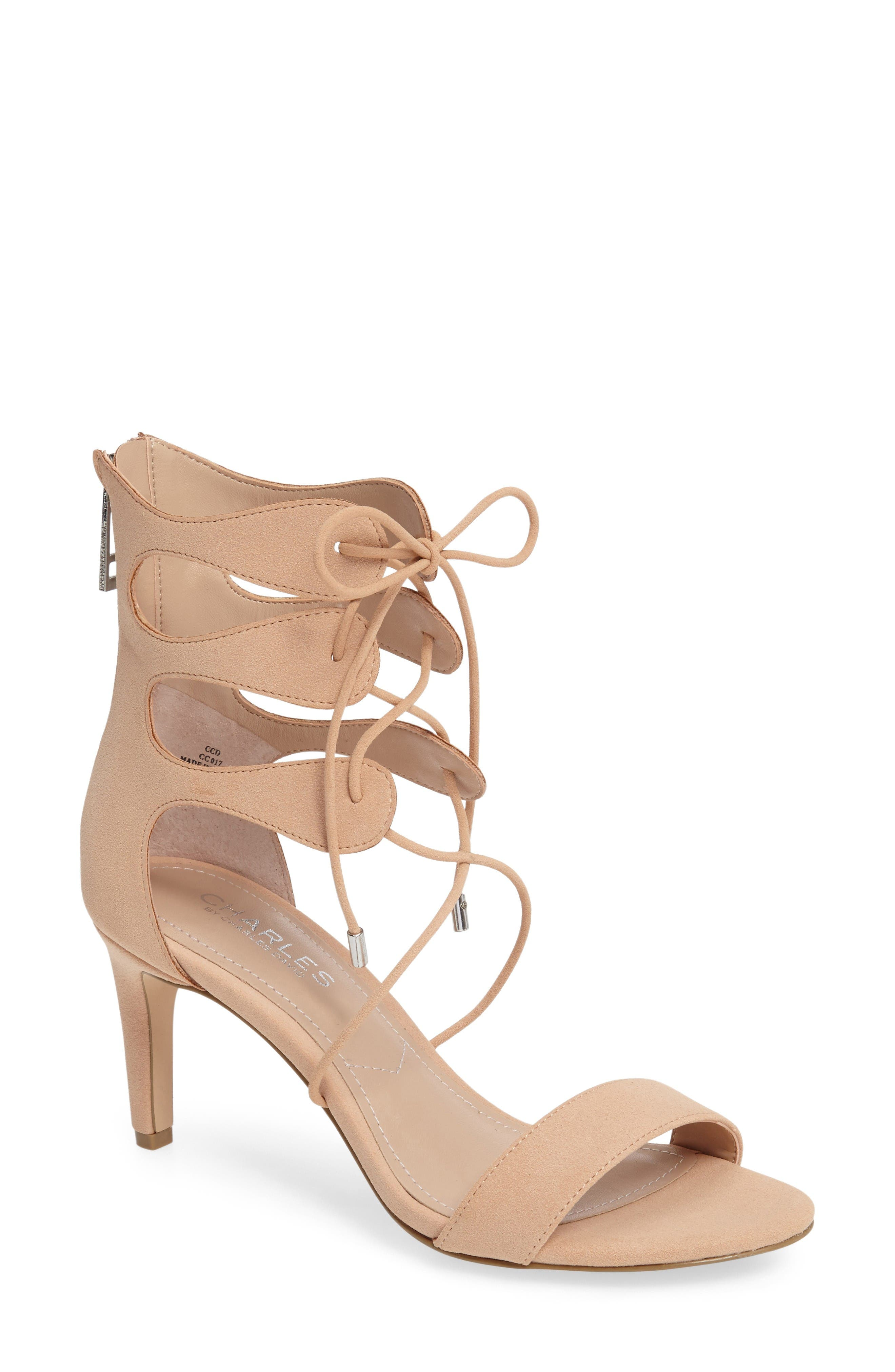 Charles by Charles David Zone Lace-Up Sandal (Women)