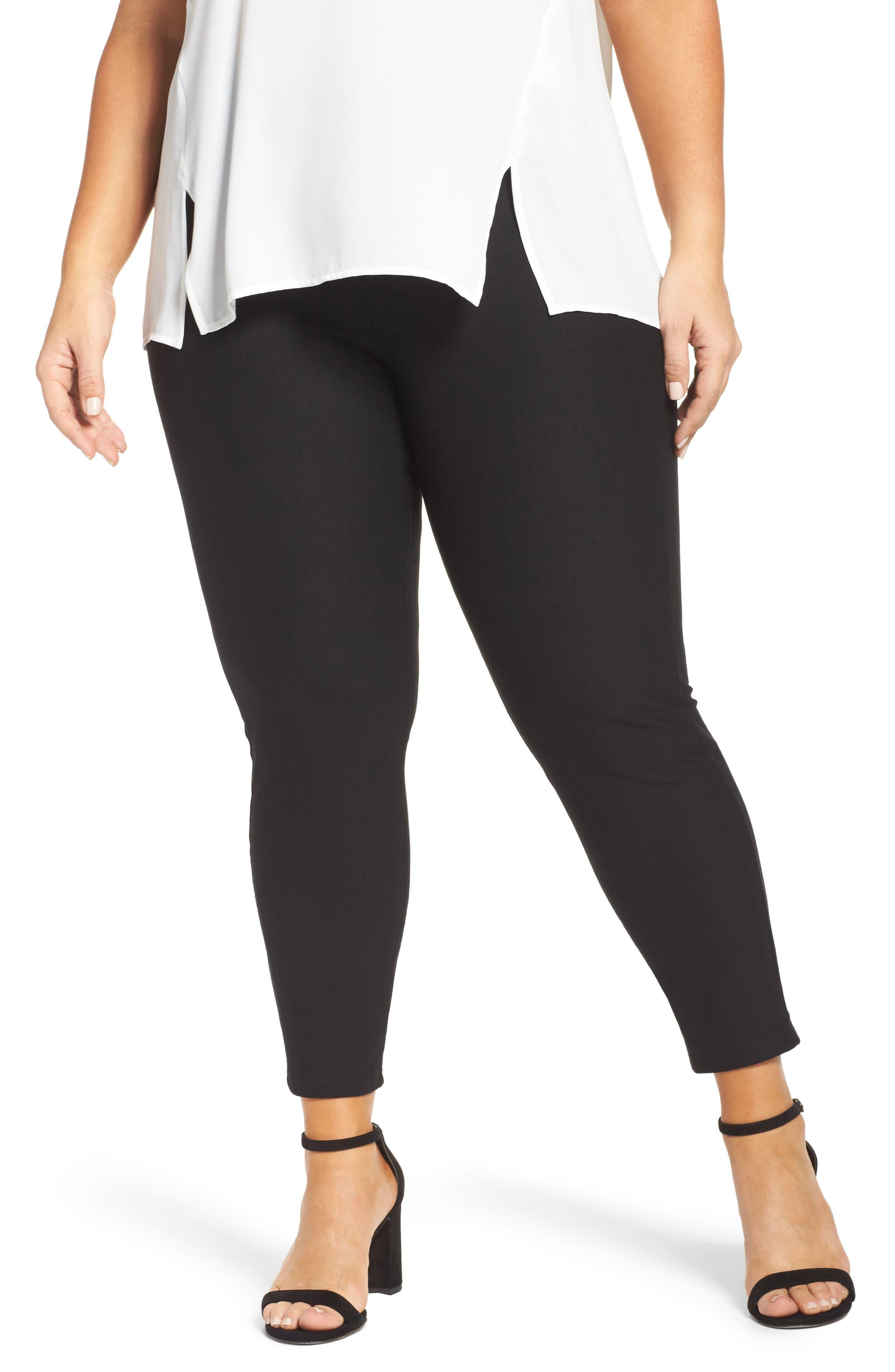 Hue Essential Denim Leggings (Plus Size)
