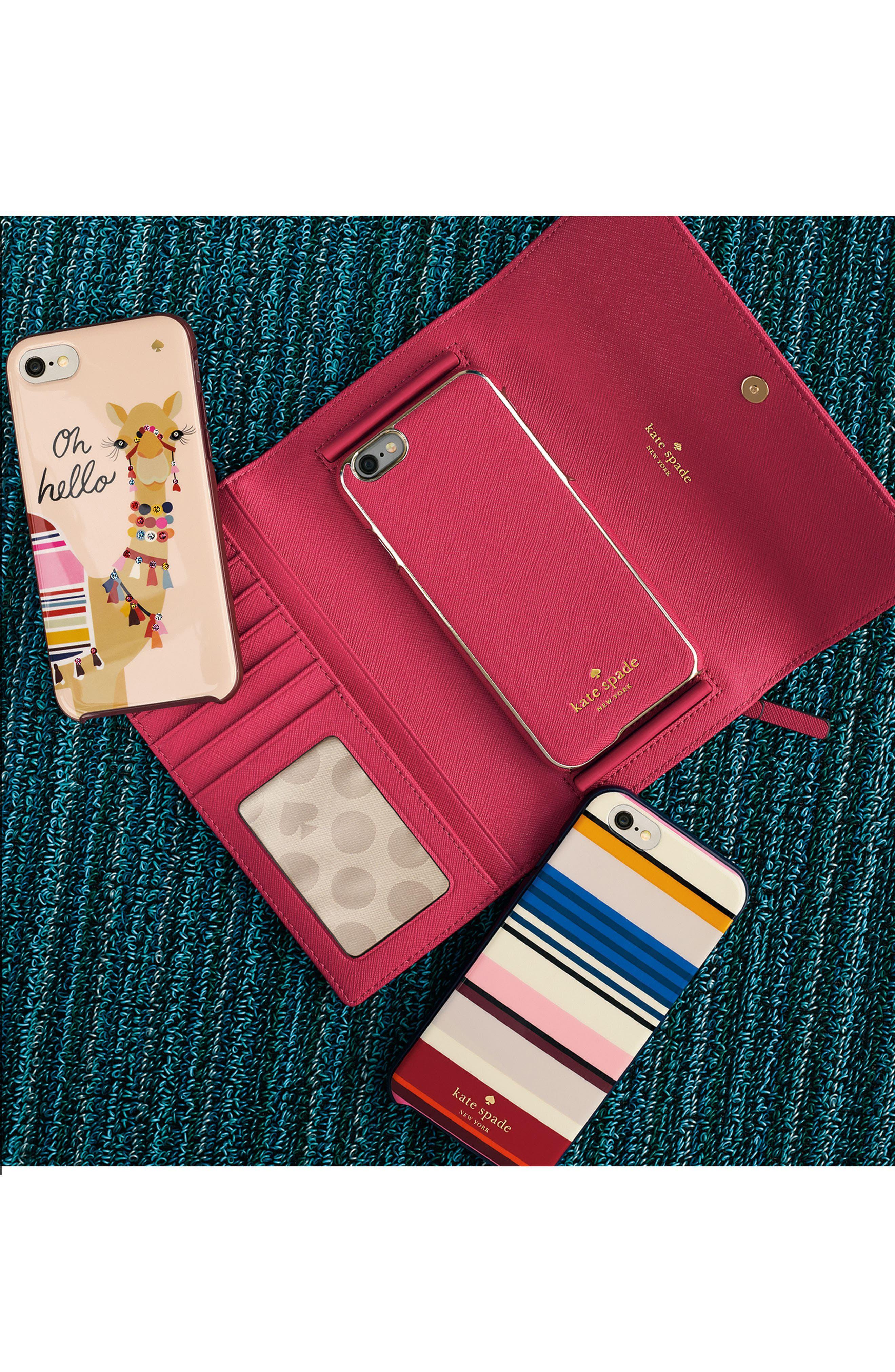 Alternate Image 6  - kate spade new york leather iPhone 7 & 7 Plus wallet
