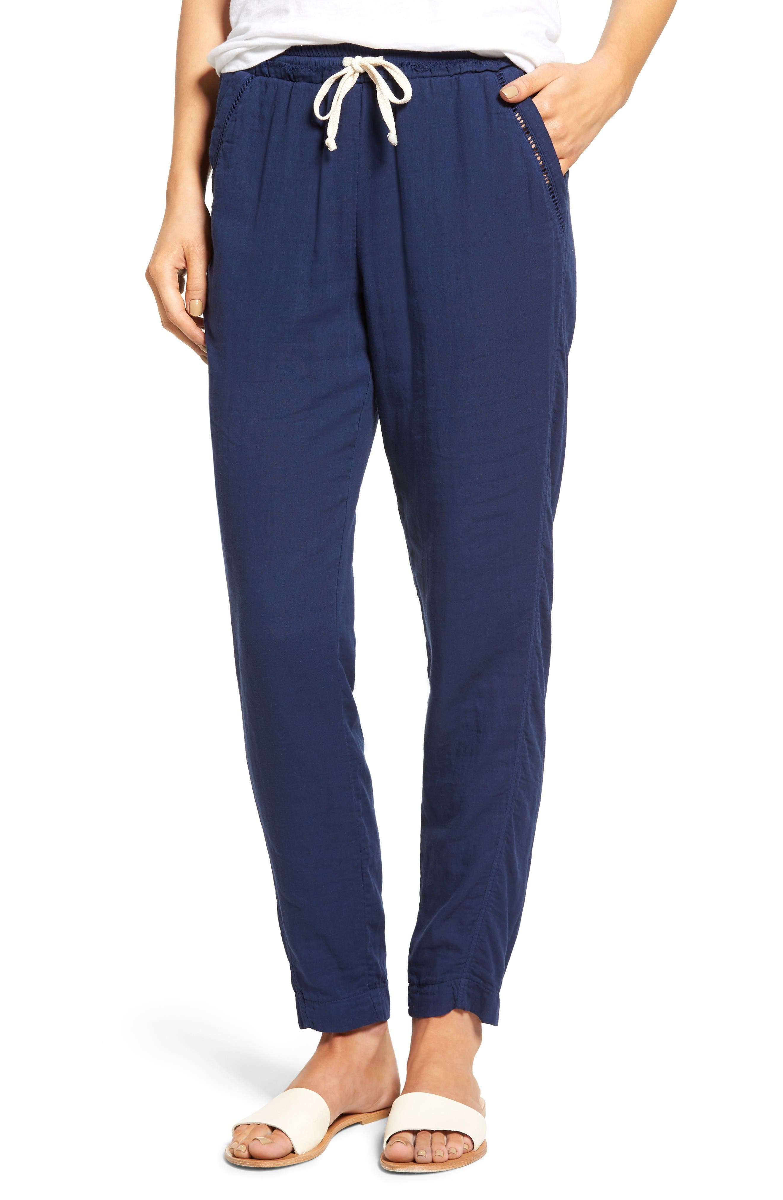 Alternate Image 1 Selected - Splendid Double Cloth Cotton Pants
