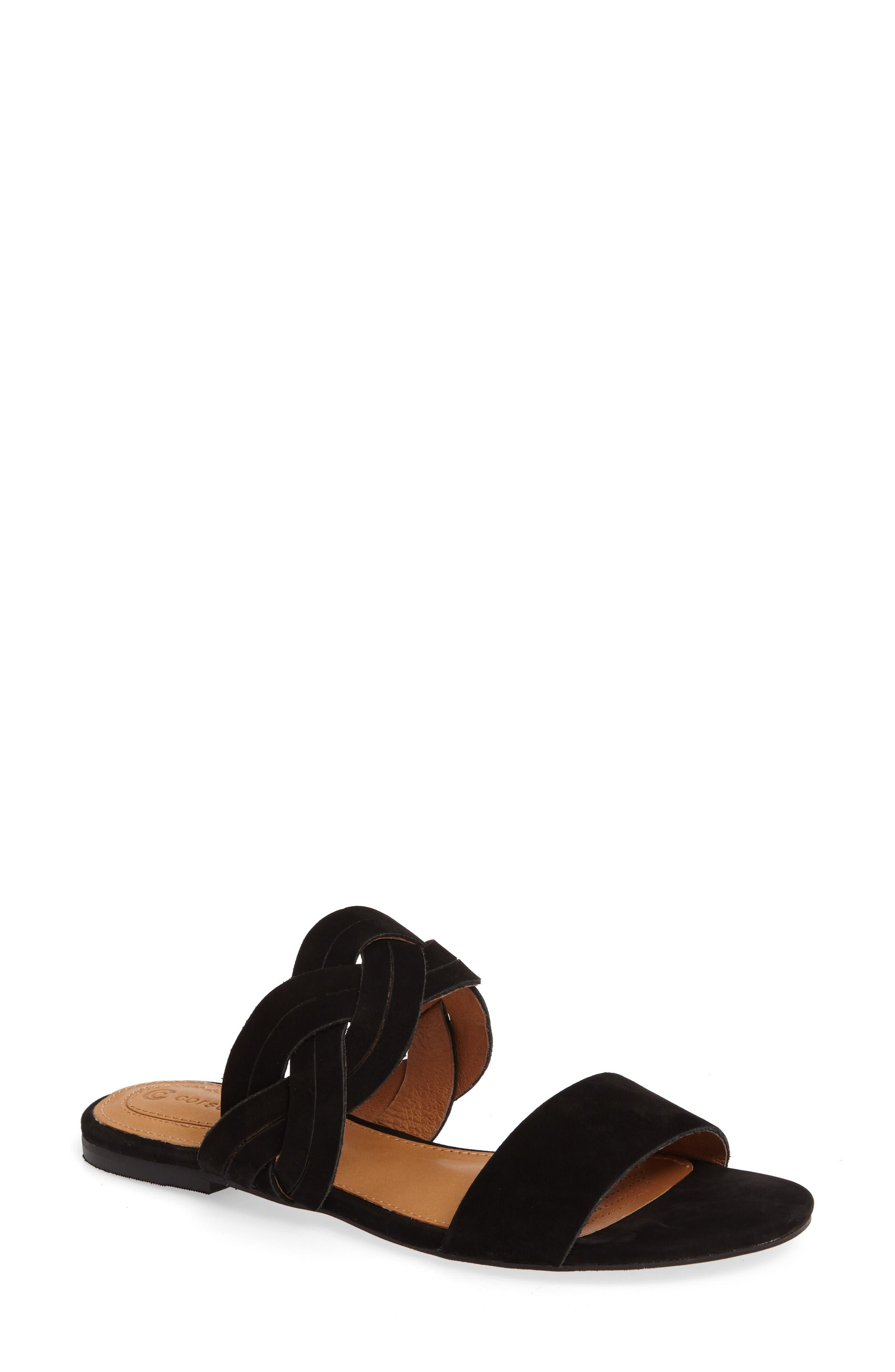 CORSO COMO Sicily Braided Slide Sandal