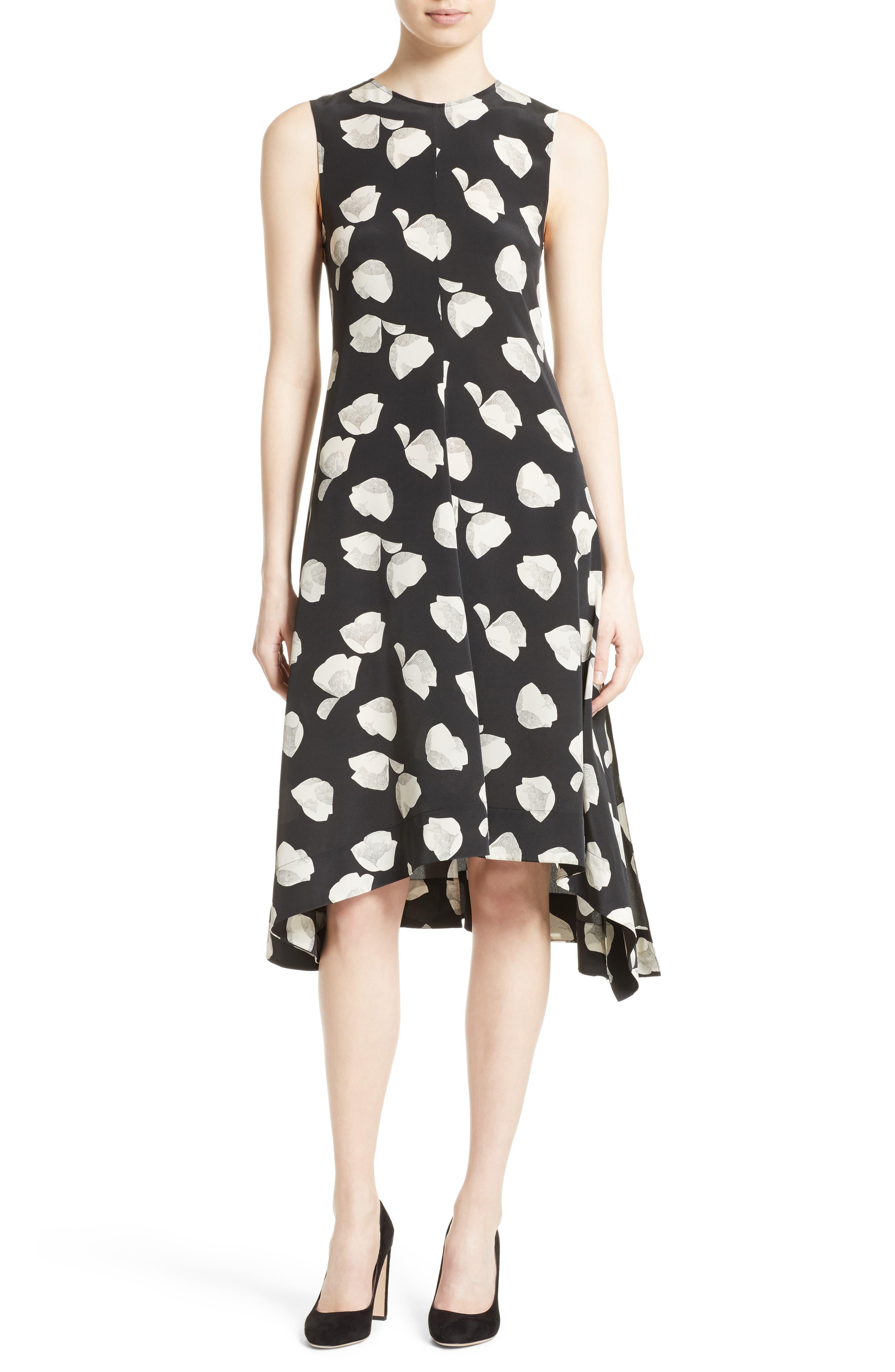 Alternate Image 1 Selected - Theory Nophella B Harper Print Silk Dress