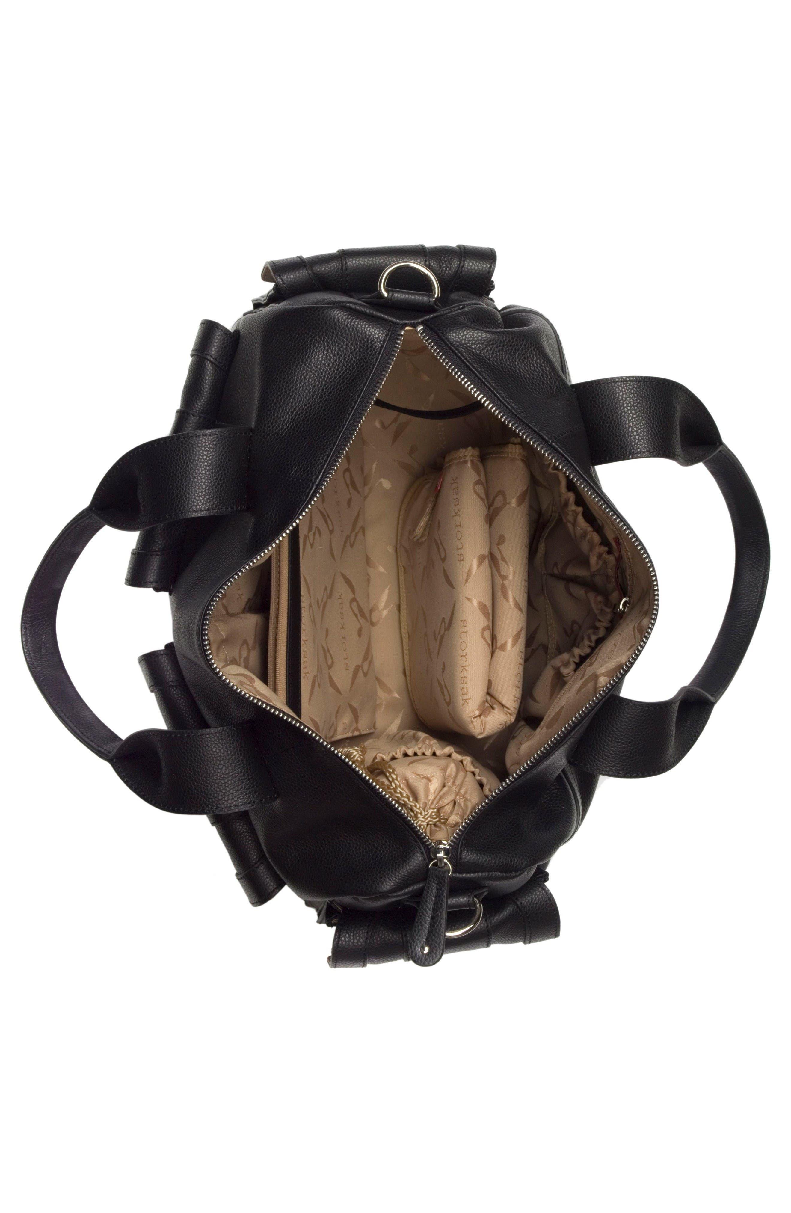 Alternate Image 4  - Storsak 'Sofia' Leather Diaper Bag