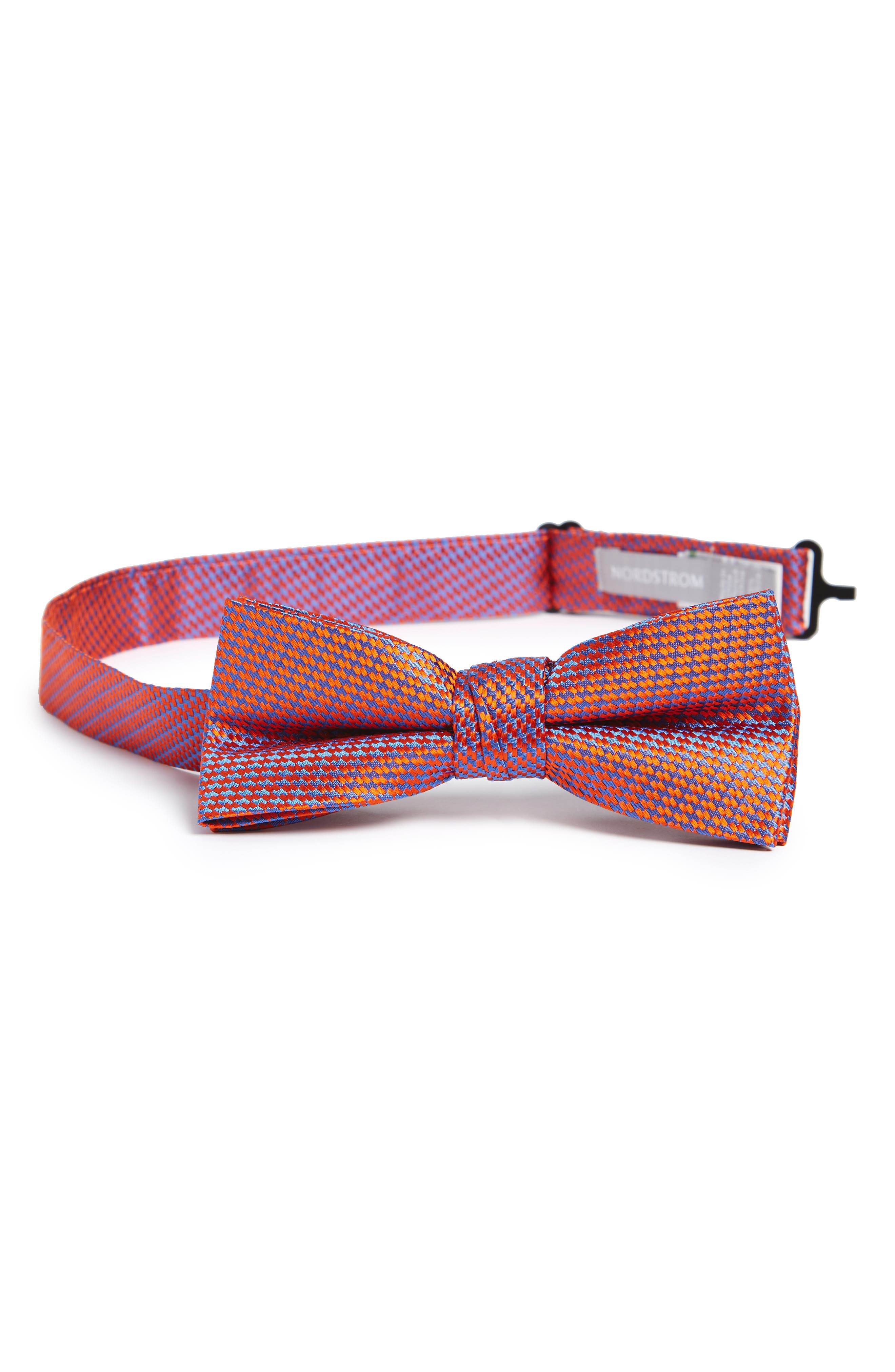 NORDSTROM Neat Silk Bow Tie