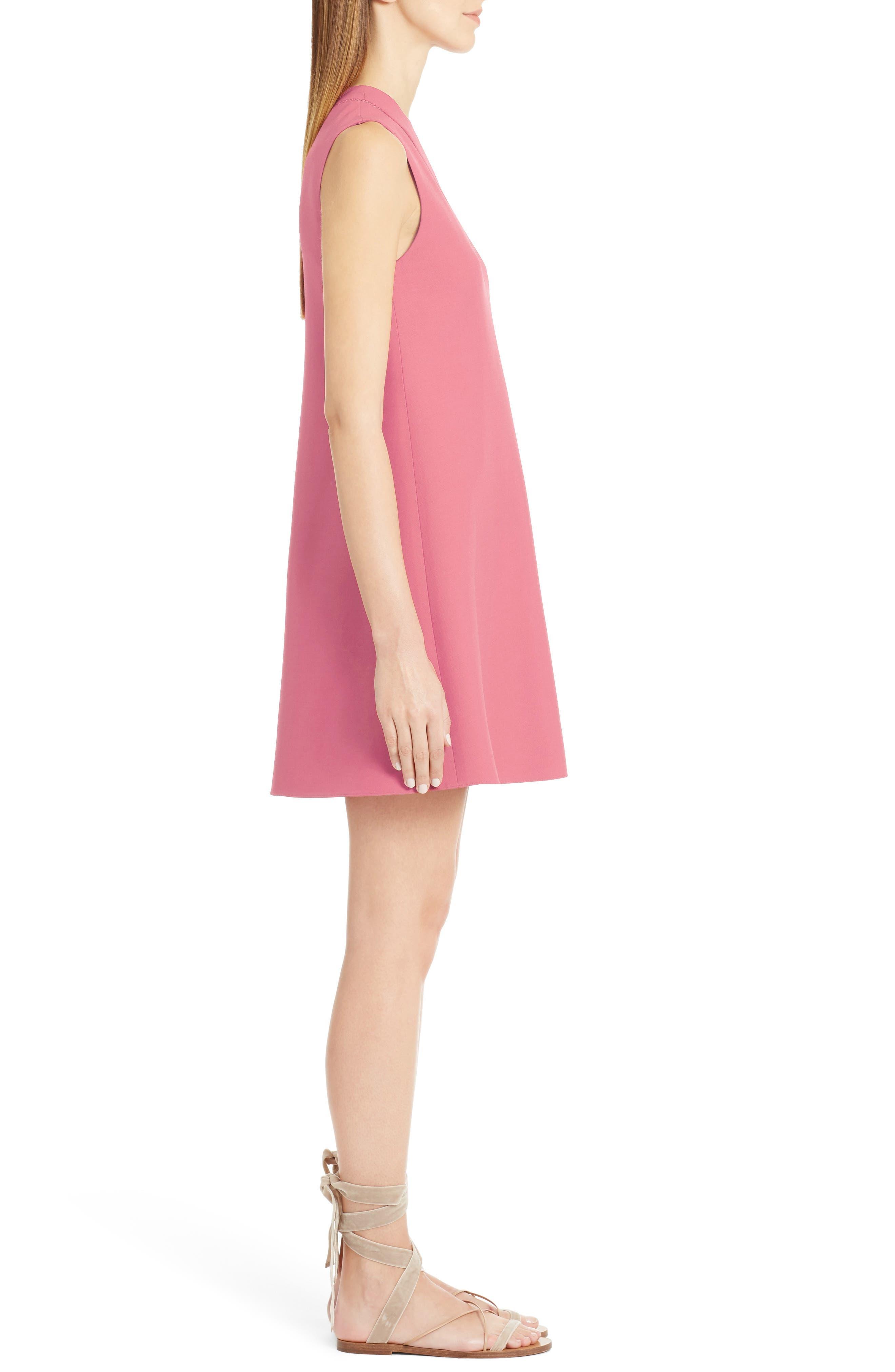 Alternate Image 4  - Valentino Wool & Silk Crepe A-Line Dress