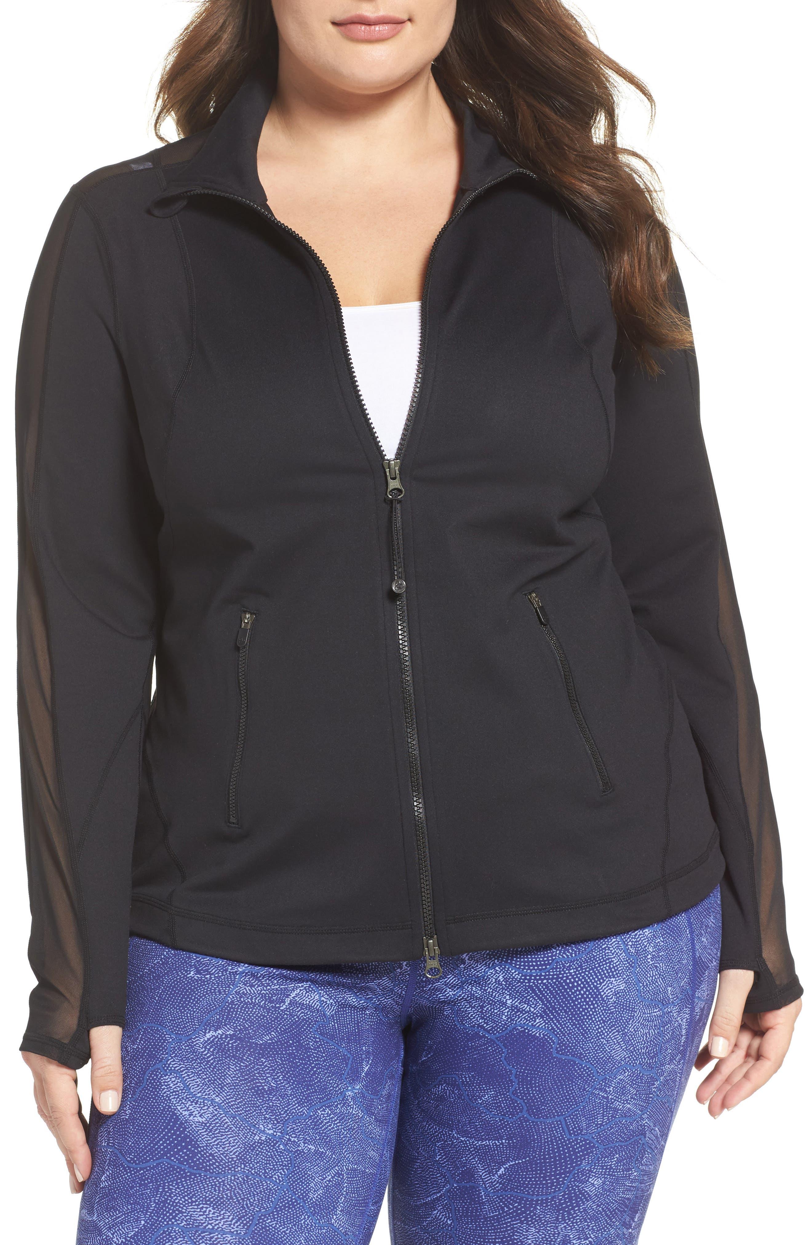 Zella Stardust Jacket (Plus Size)
