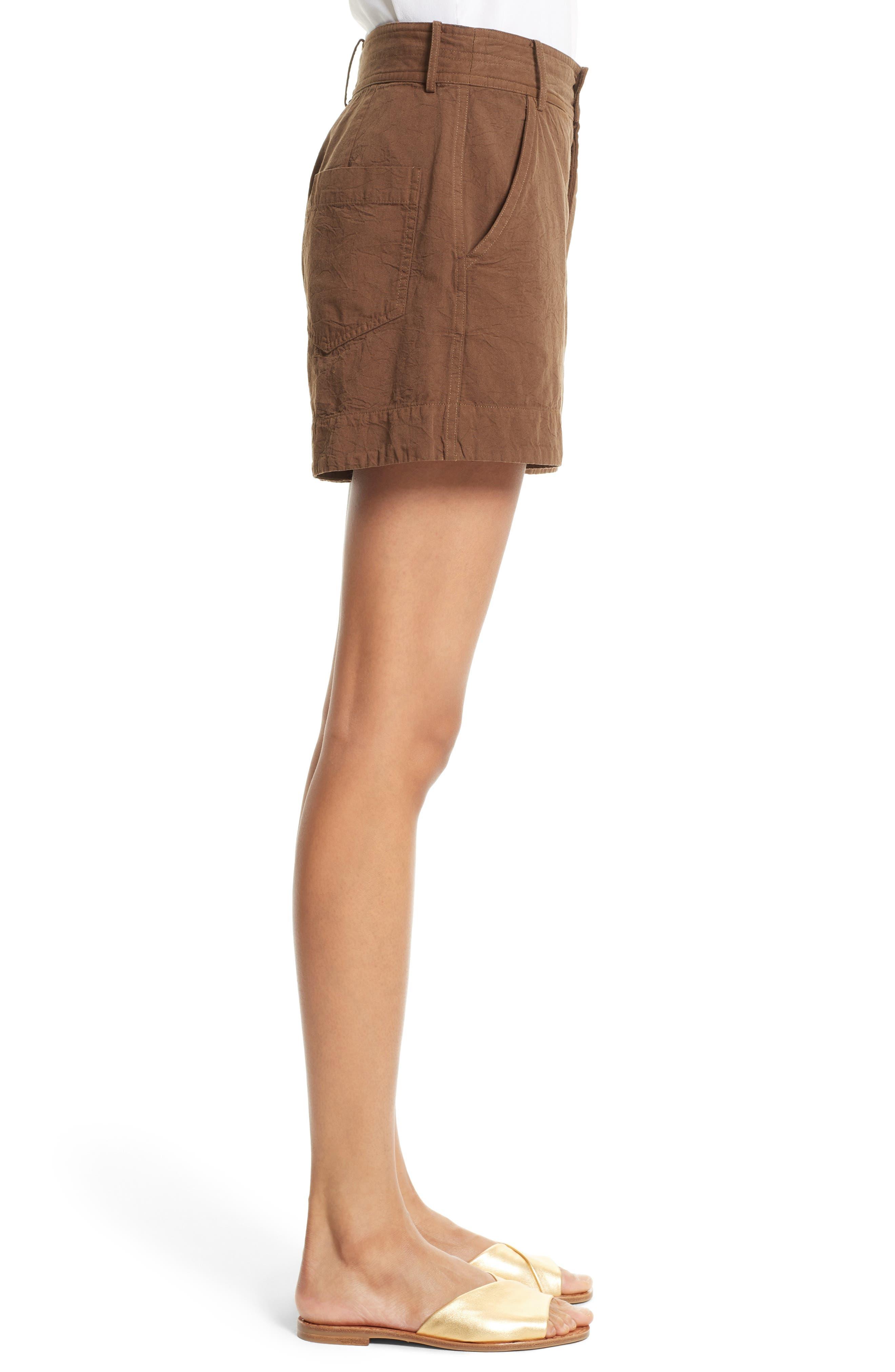 Alternate Image 3  - Apiece Apart Merida Cotton Shorts
