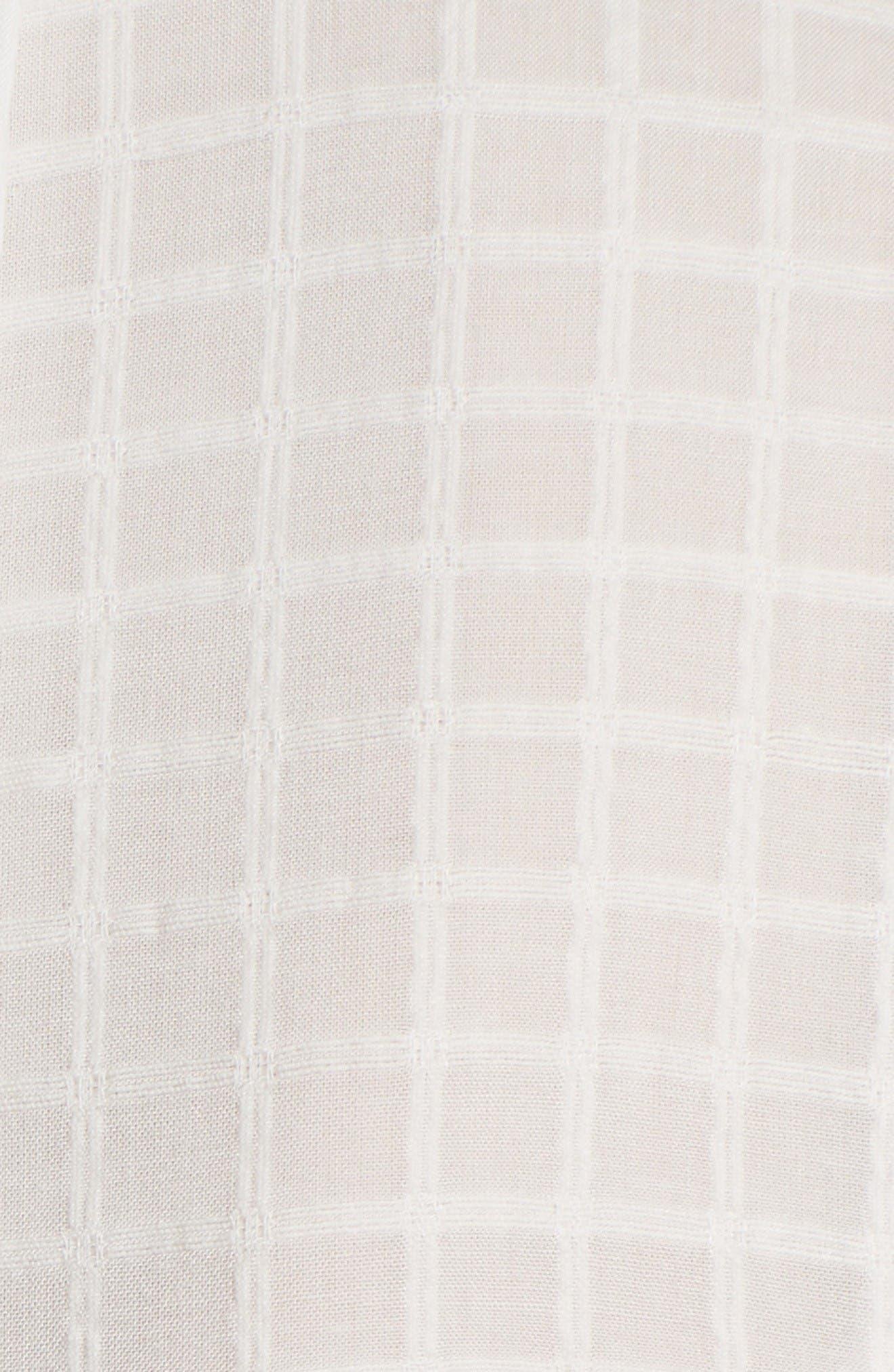 Alternate Image 5  - La Vie Rebecca Taylor Draped Ruffle Dress