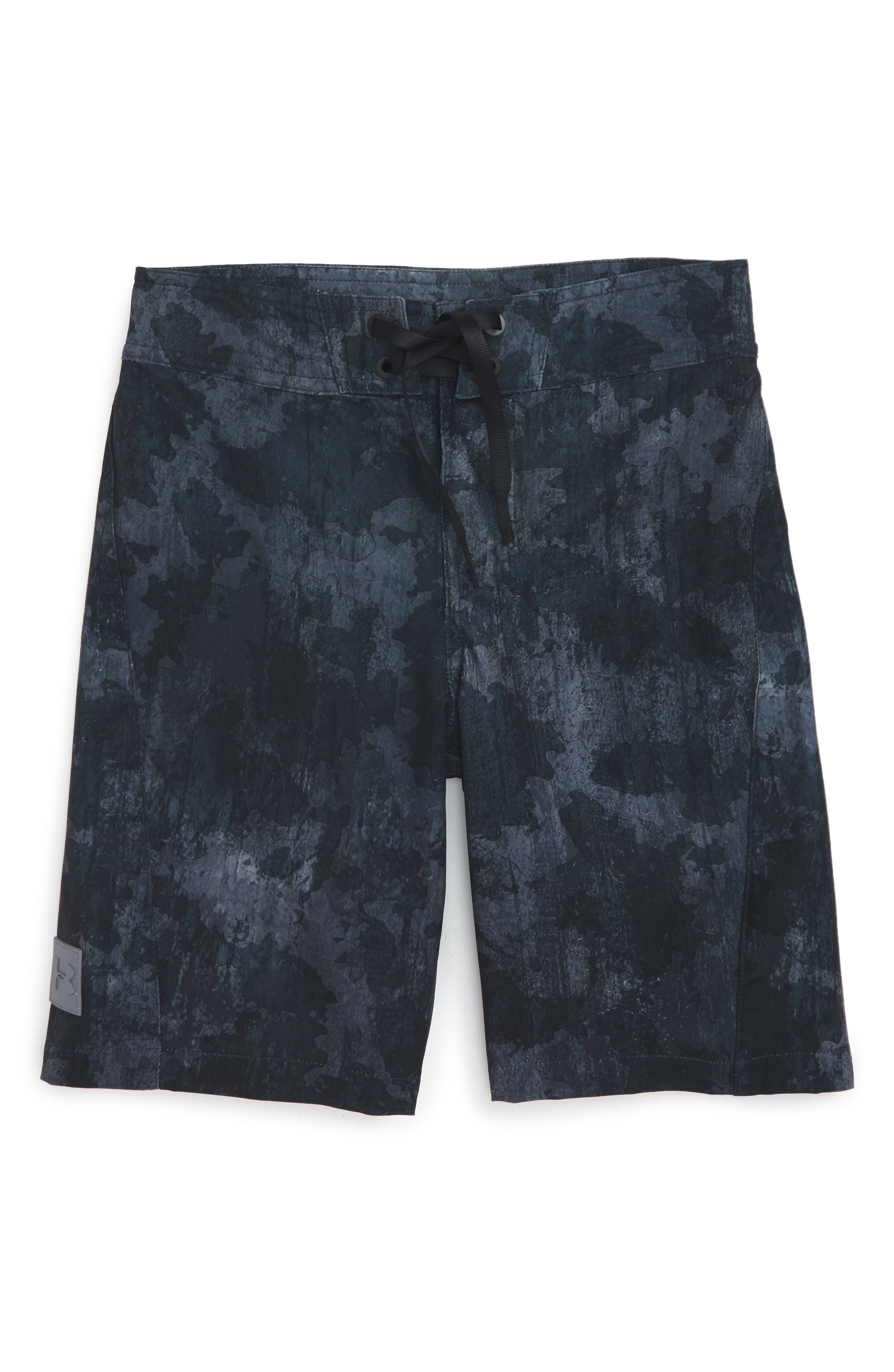 Under Armour Barrel - UA Storm Water Repellent Board Shorts (Big Boys)