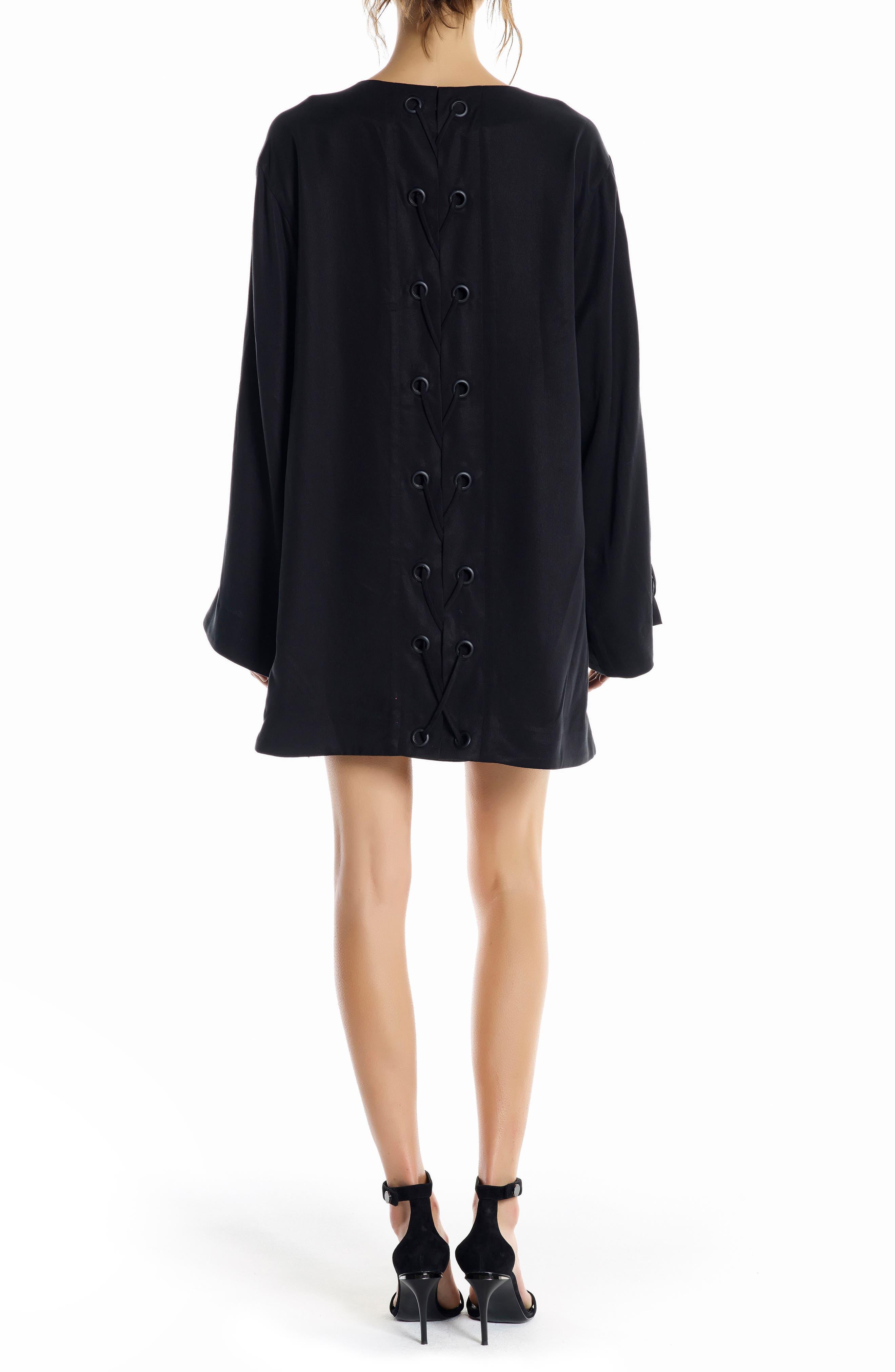 Alternate Image 2  - KENDALL + KYLIE Bell Sleeve Minidress