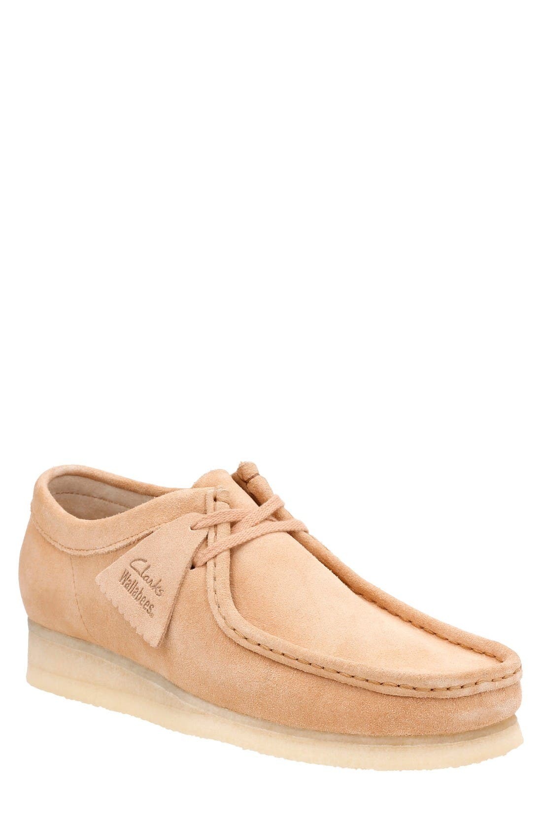 CLARKS® ORIGINALS 'Wallabee' Moc Toe Derby (Online Only)