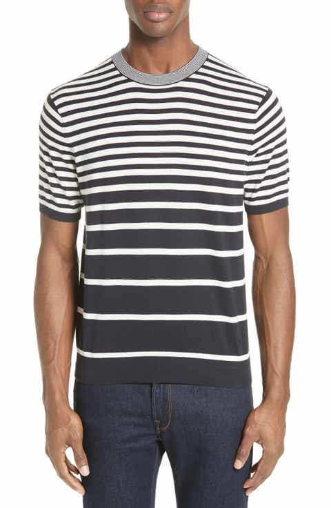 PS Paul Smith Variegated Stripe Sweater