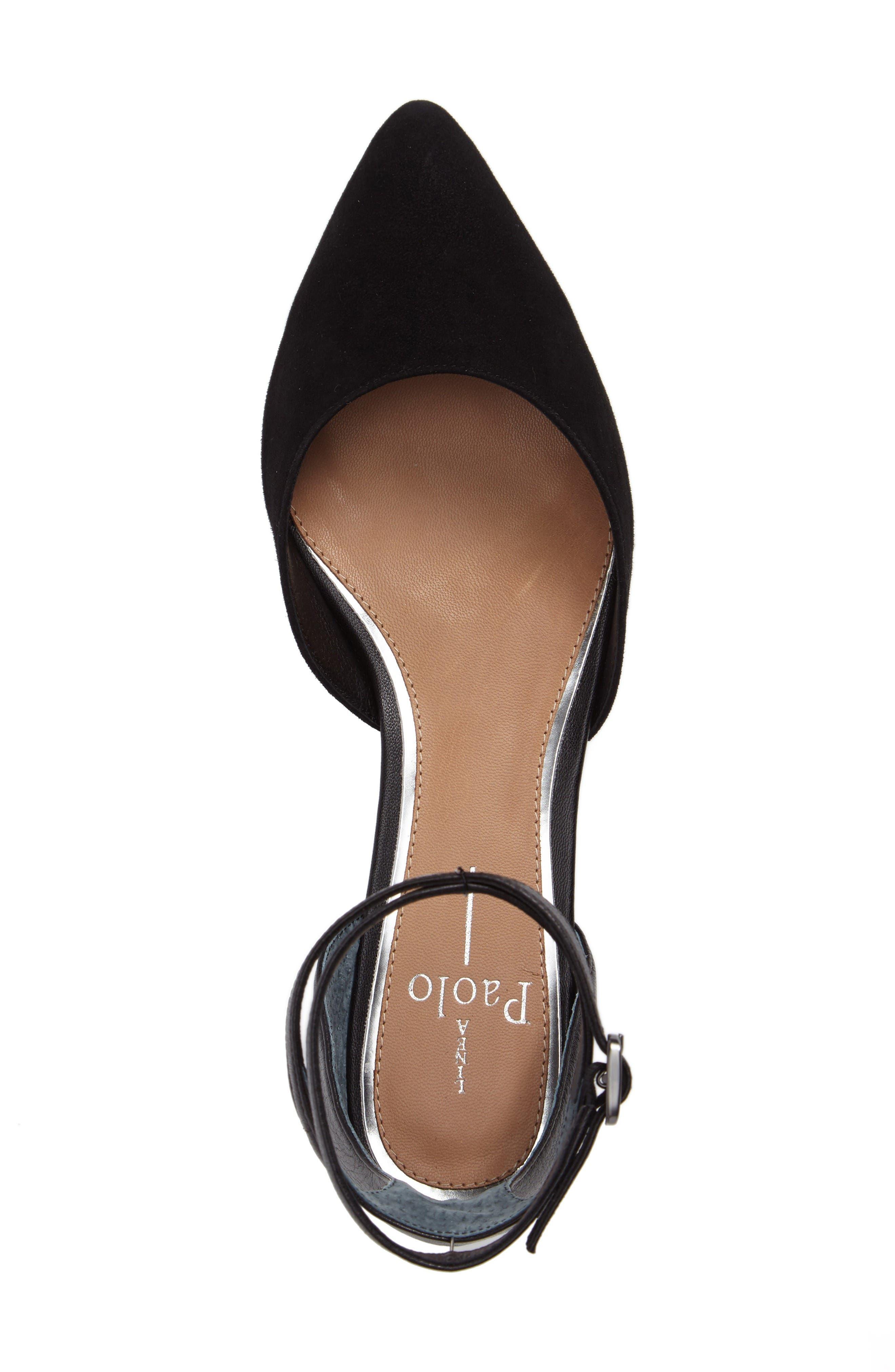 Alternate Image 5  - Linea Paolo Dario Ankle Strap Flat (Women)