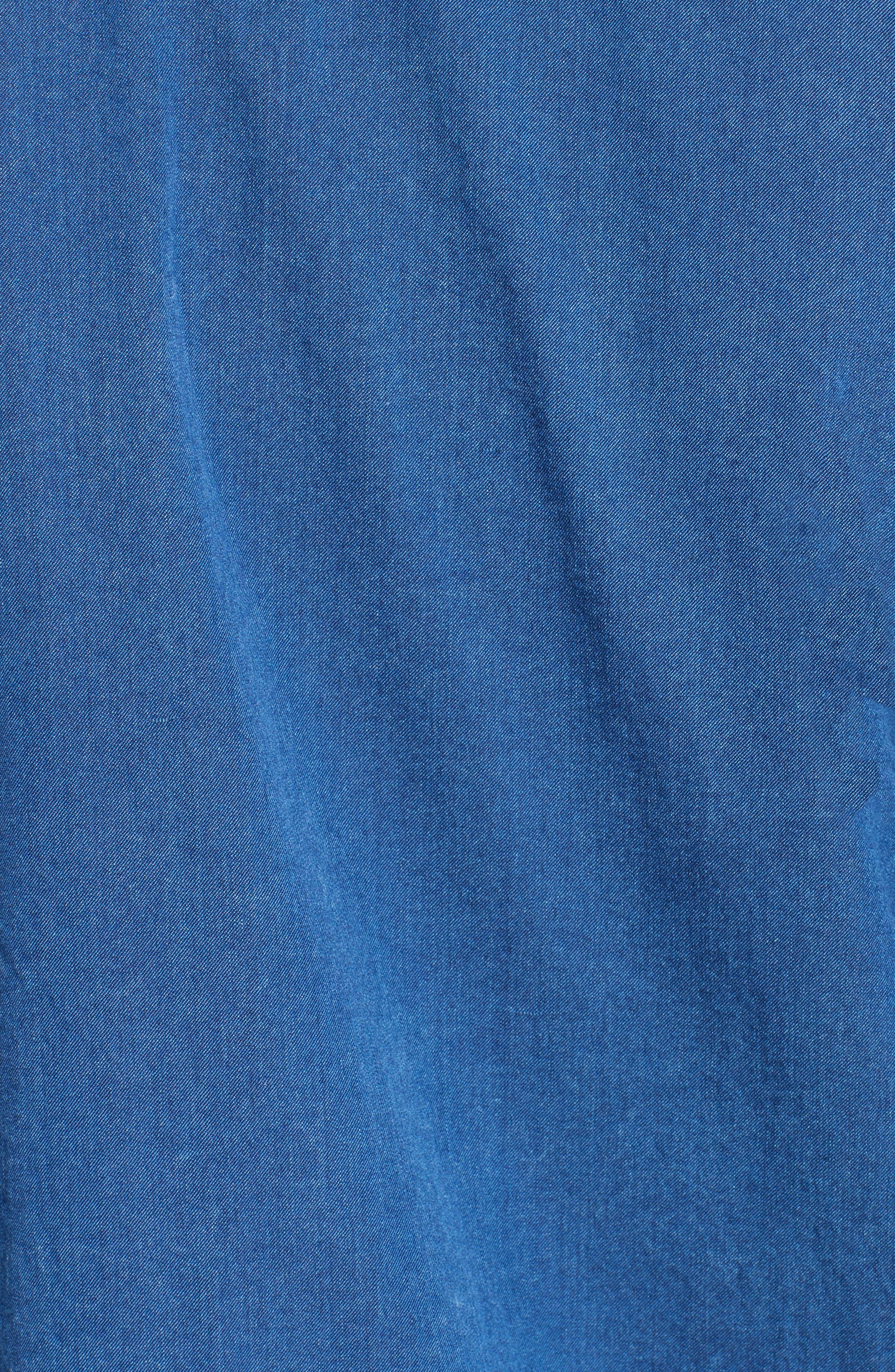 Alternate Image 3  - Burberry Jaden Pintuck Denim Shirt