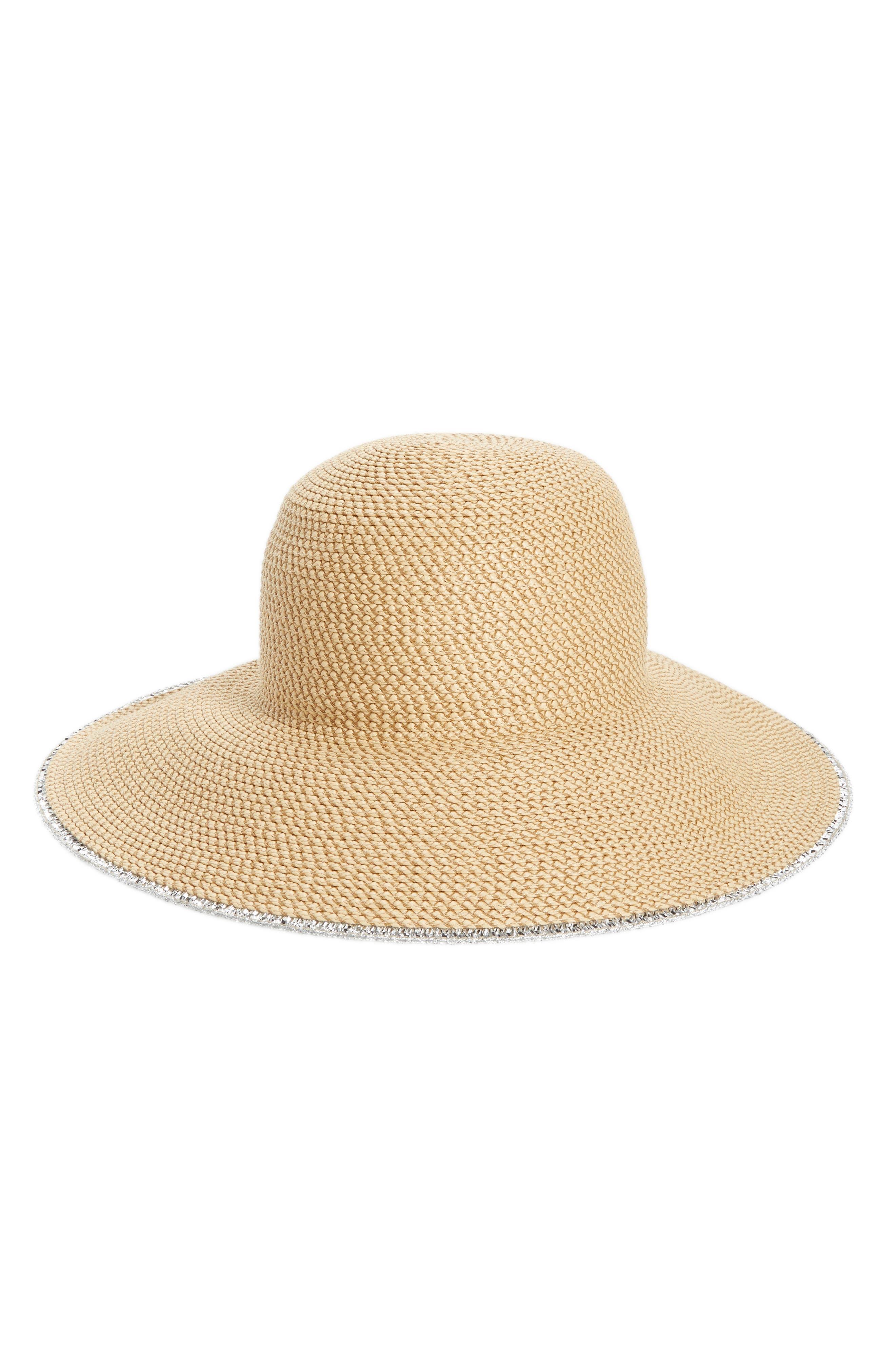 Alternate Image 1 Selected - Eric Javits 'Hampton' Straw Sun Hat