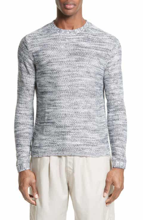 Saturdays NYC Wade Reverse Knit Sweater