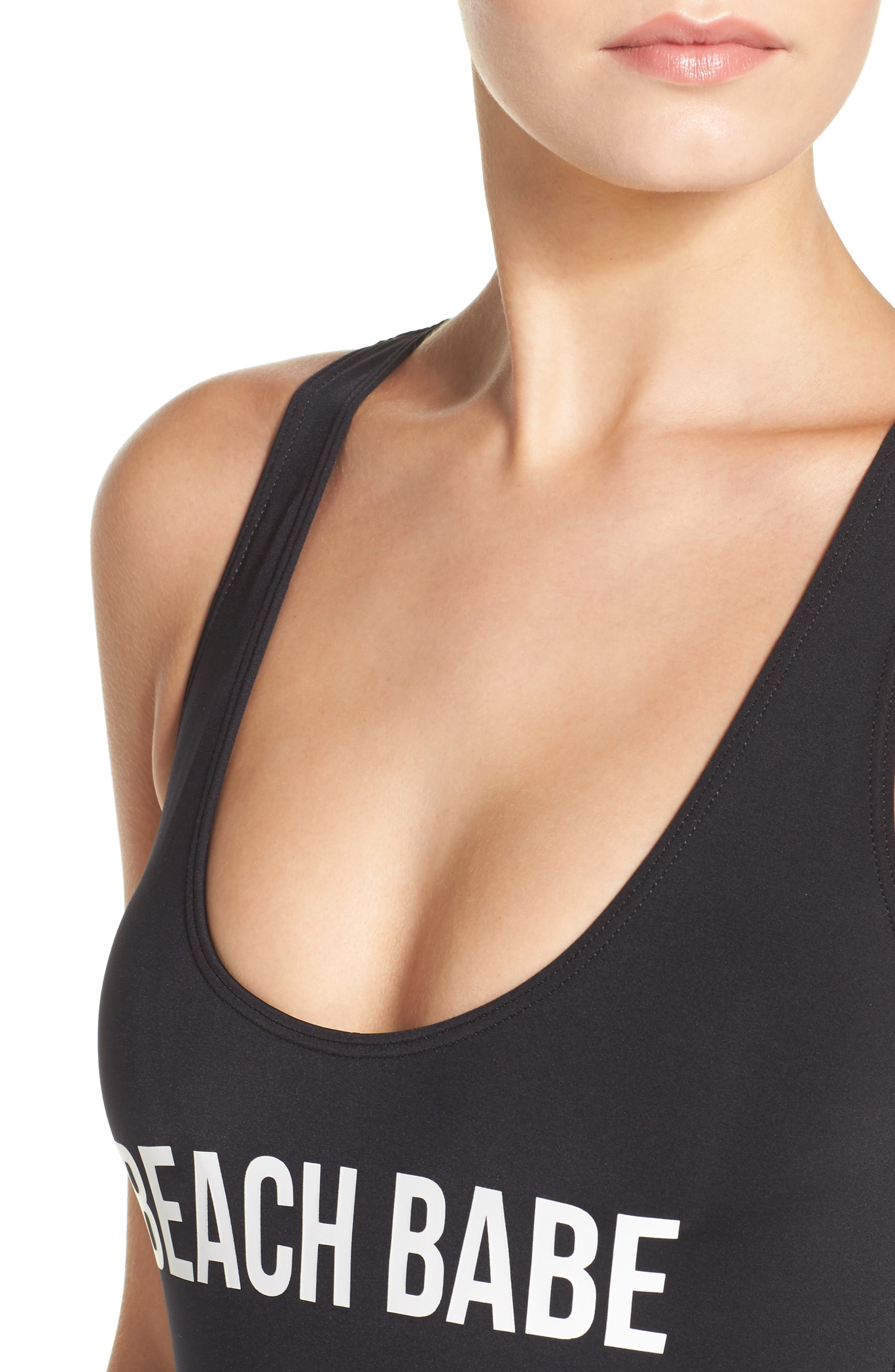 Alternate Image 4  - The Bikini Lab Beach Babe One-Piece Swimsuit