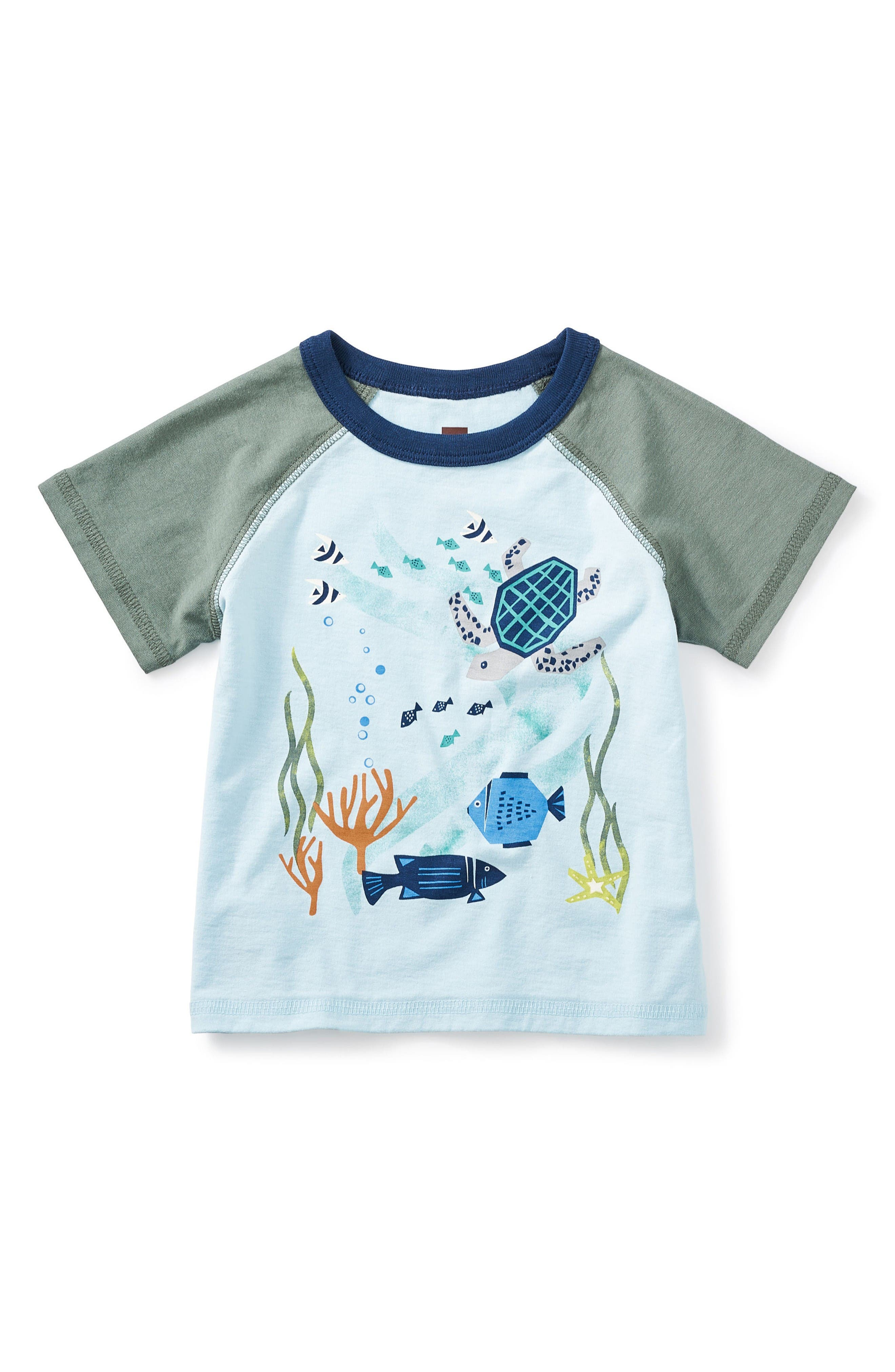 Tea Collection Barrier Reef T-Shirt (Baby)
