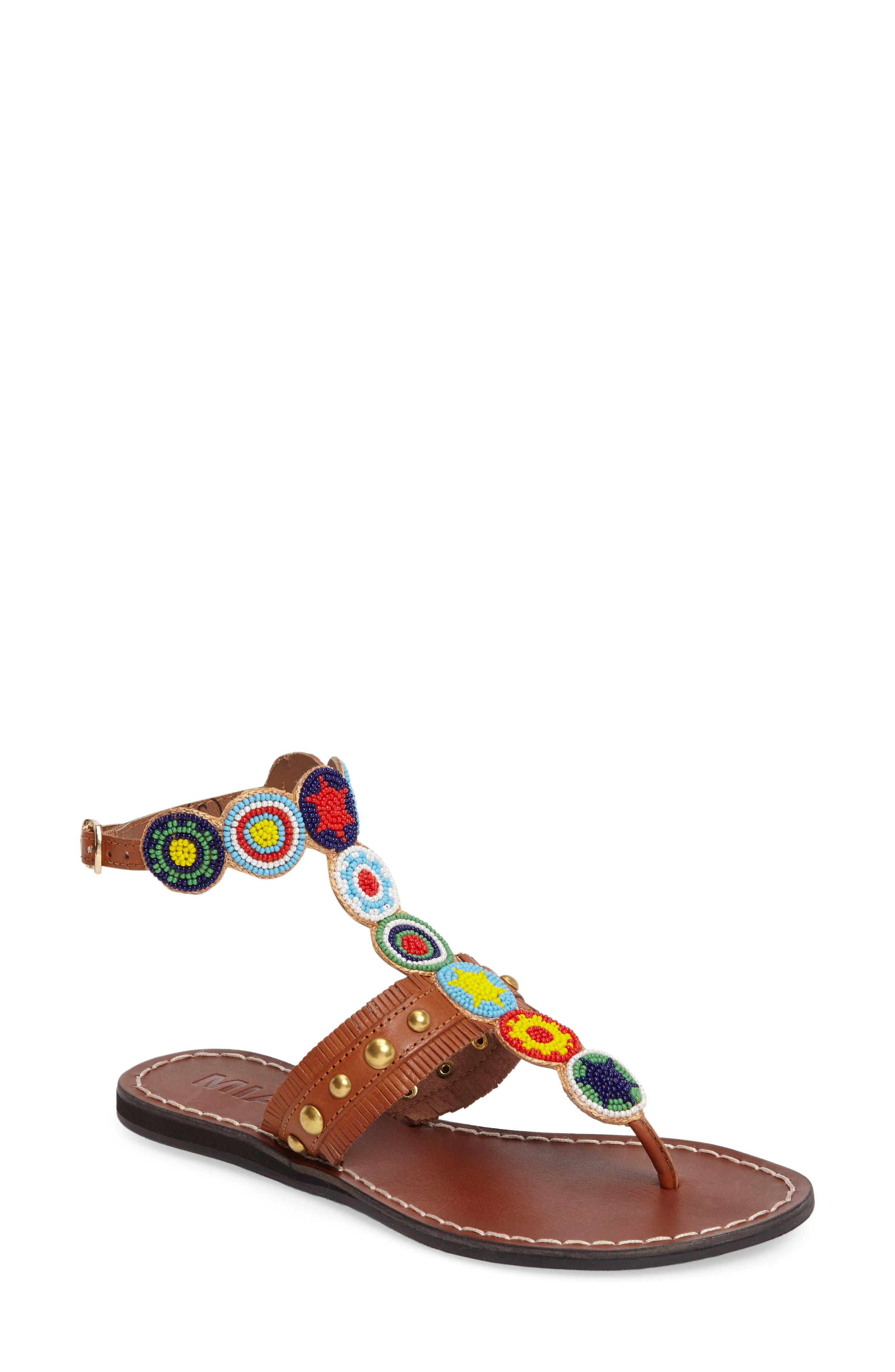 MIA Athena Embellished Sandal (Women)