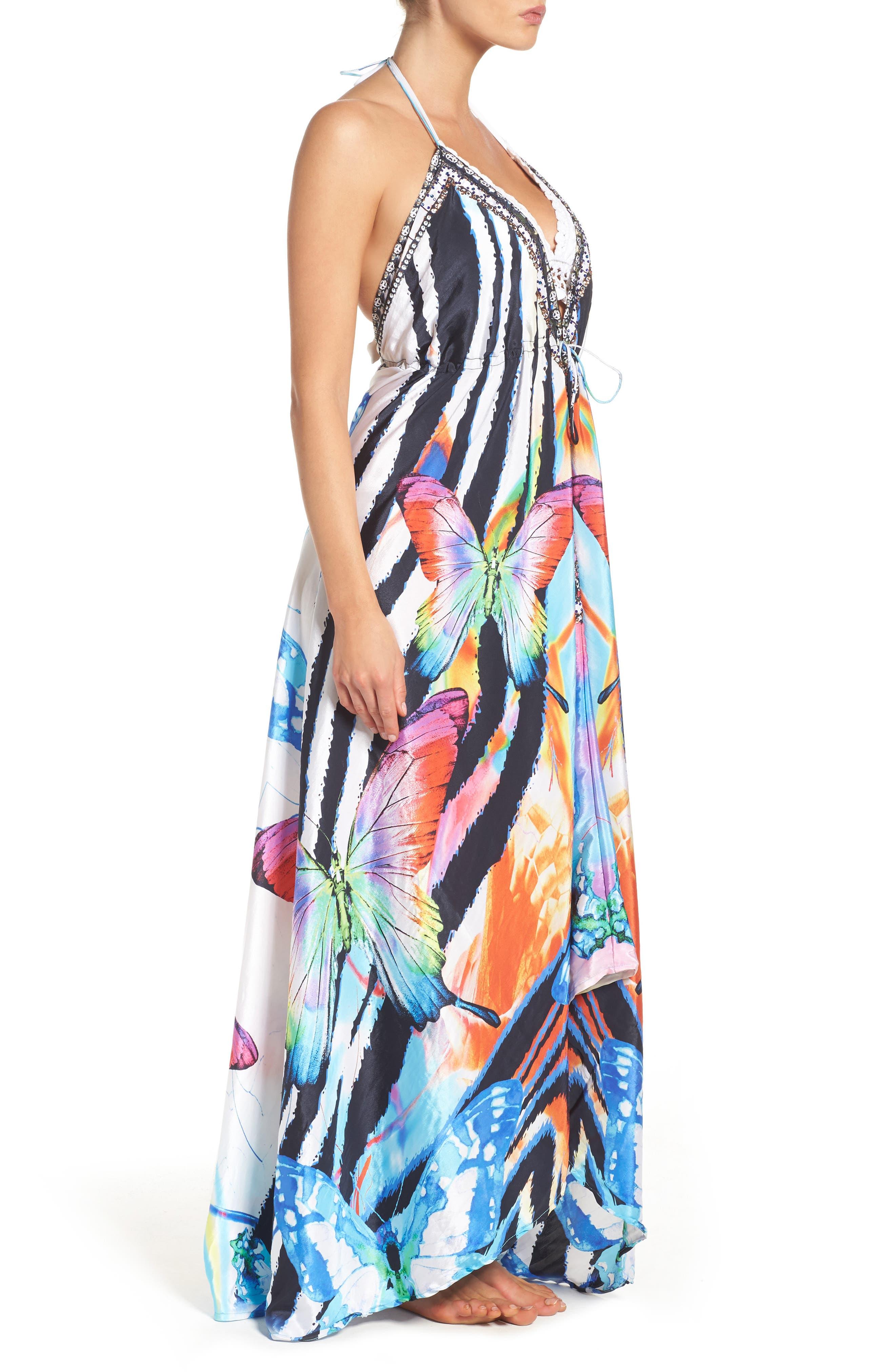 Alternate Image 3  - Asa Kaftans Tortuga Cover-Up Maxi Dress