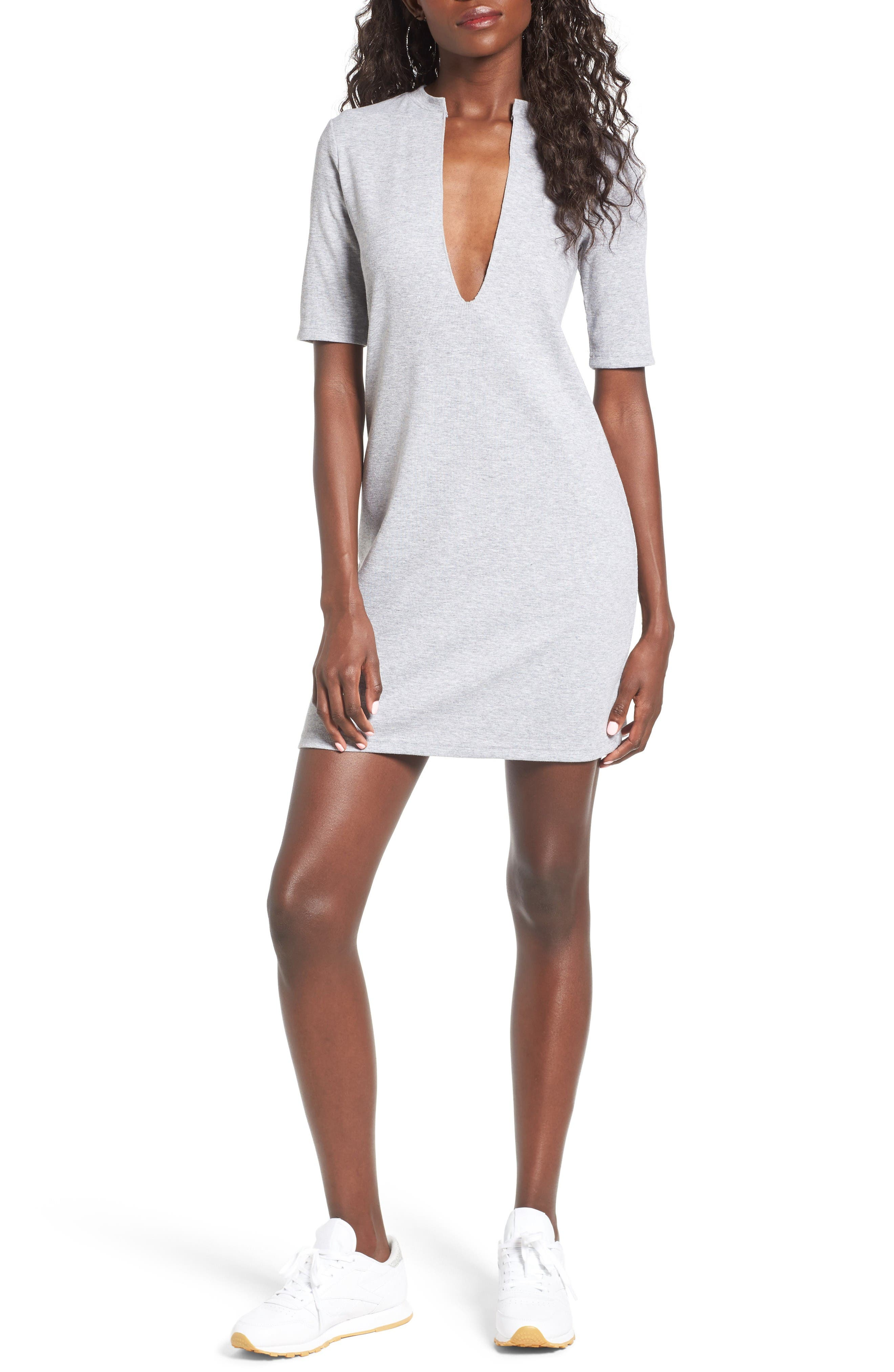 The Fifth Label Fly with Me Plunging Knit Dress