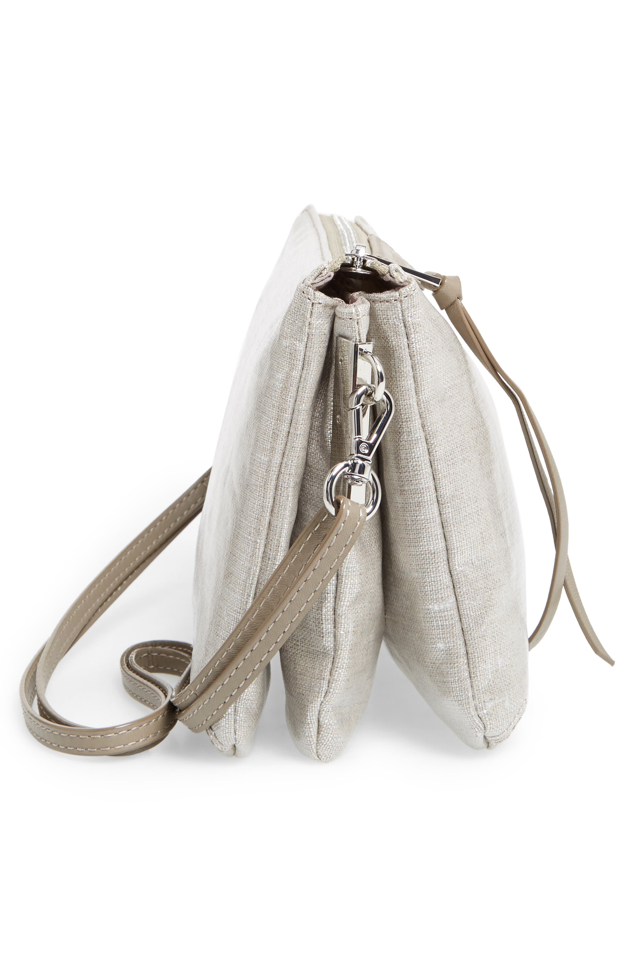 Alternate Image 5  - MZ Wallace 'Pippa' Bedford Nylon Crossbody Bag