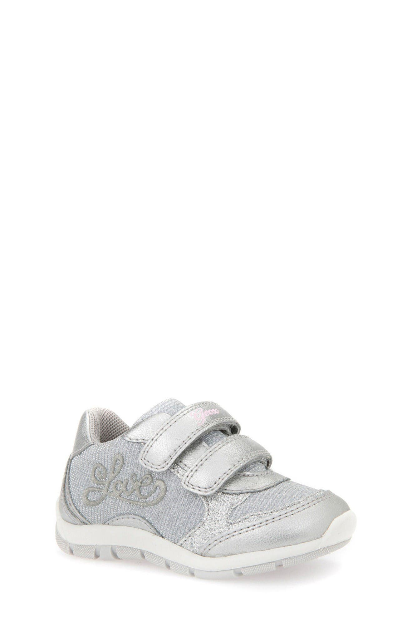 Geox Shaax Love Sneaker (Walker & Toddler)