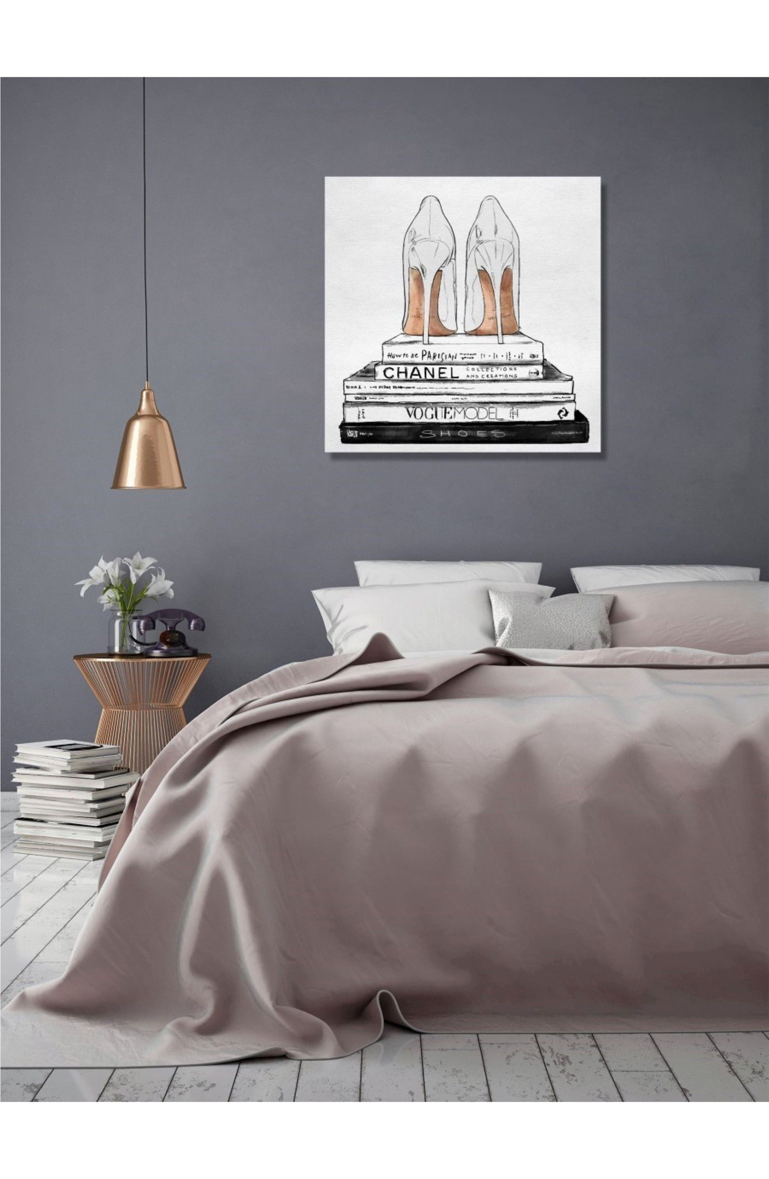 Alternate Image 2  - Oliver Gal Standalone Shoes Canvas Wall Art
