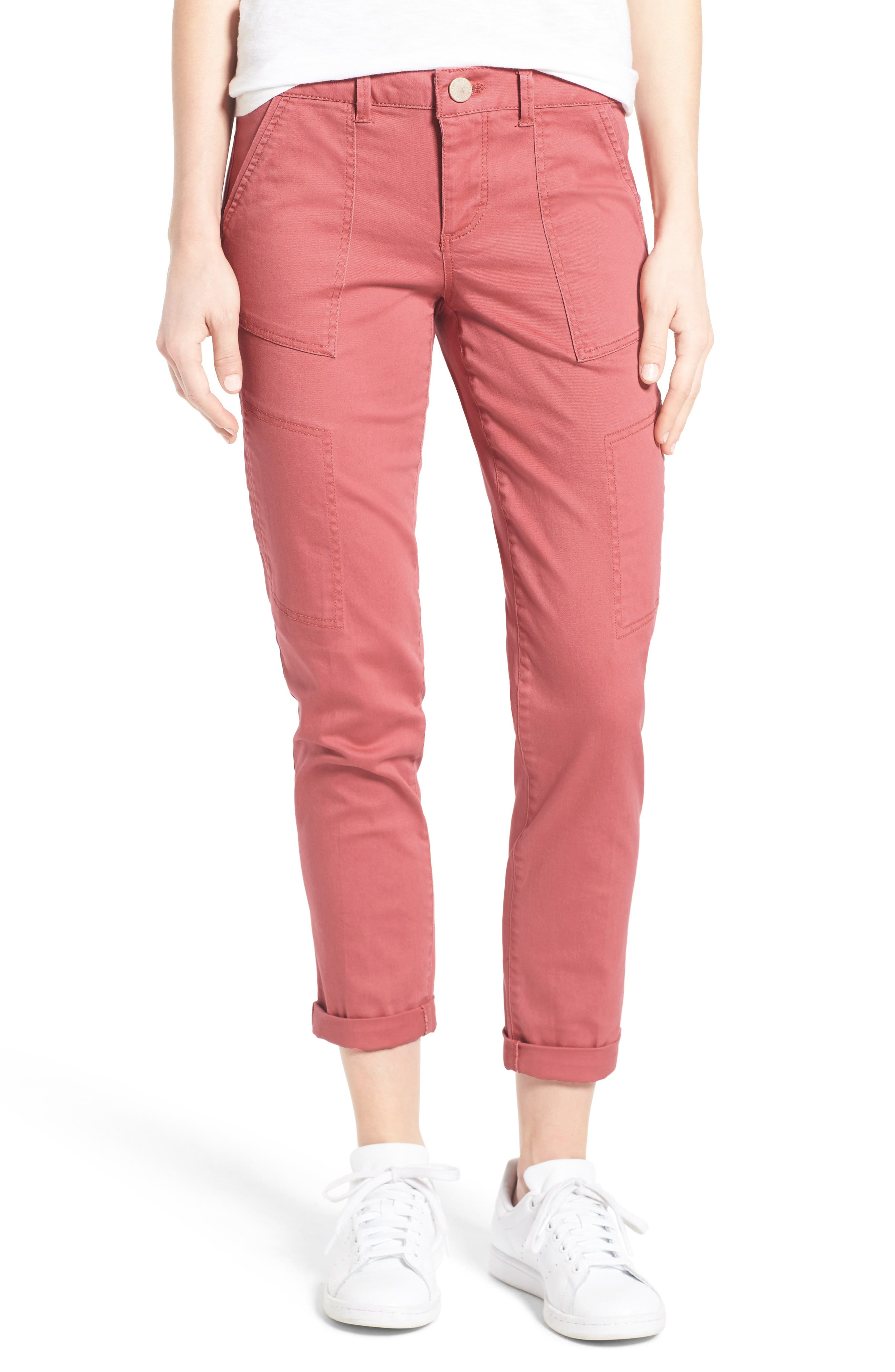 Wit & Wisdom Skinny Cargo Pants (Regular & Petite) (Nordstrom Exclusive)