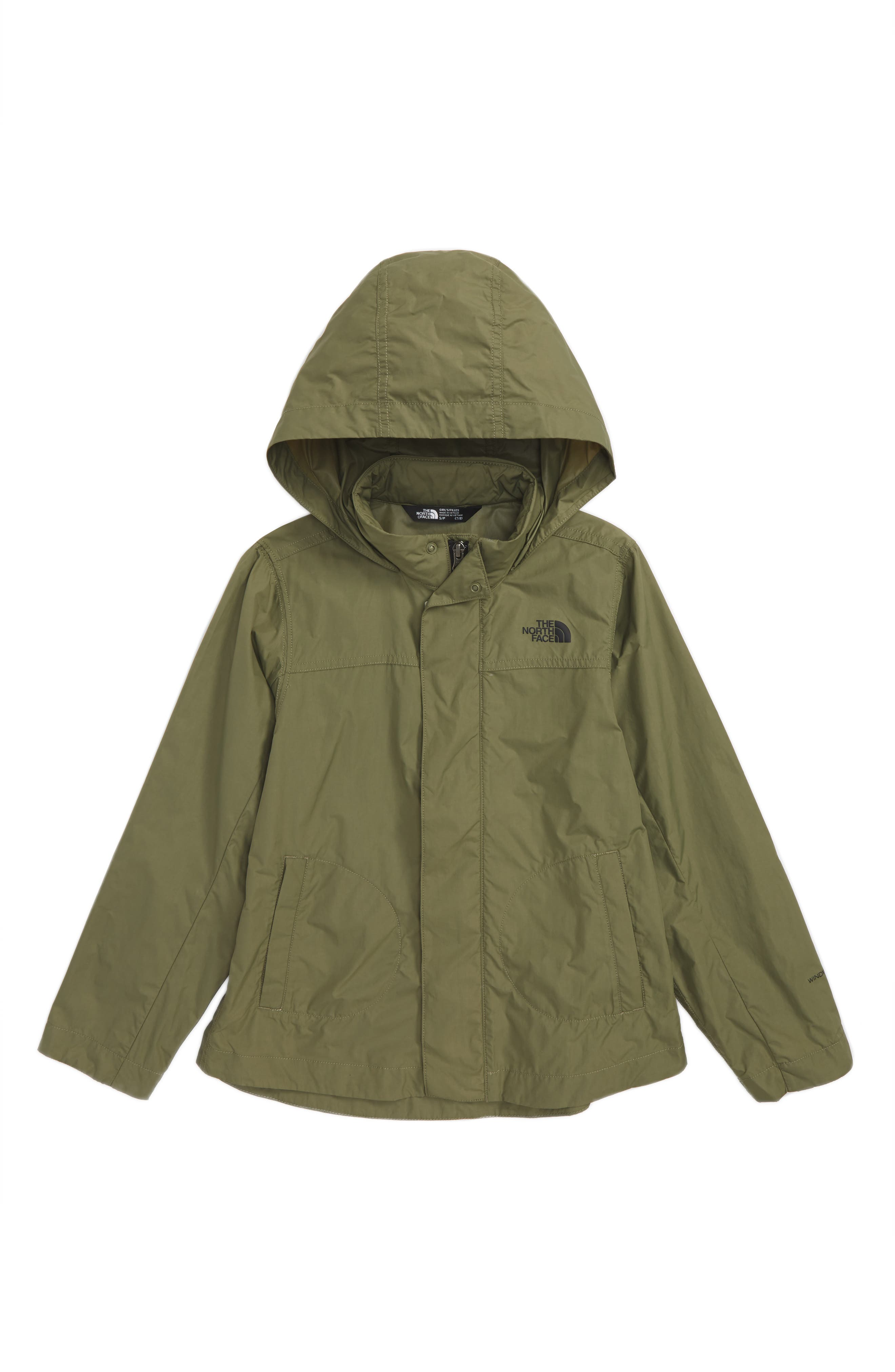 The North Face Flychute Windbreaker Jacket (Big Girls)