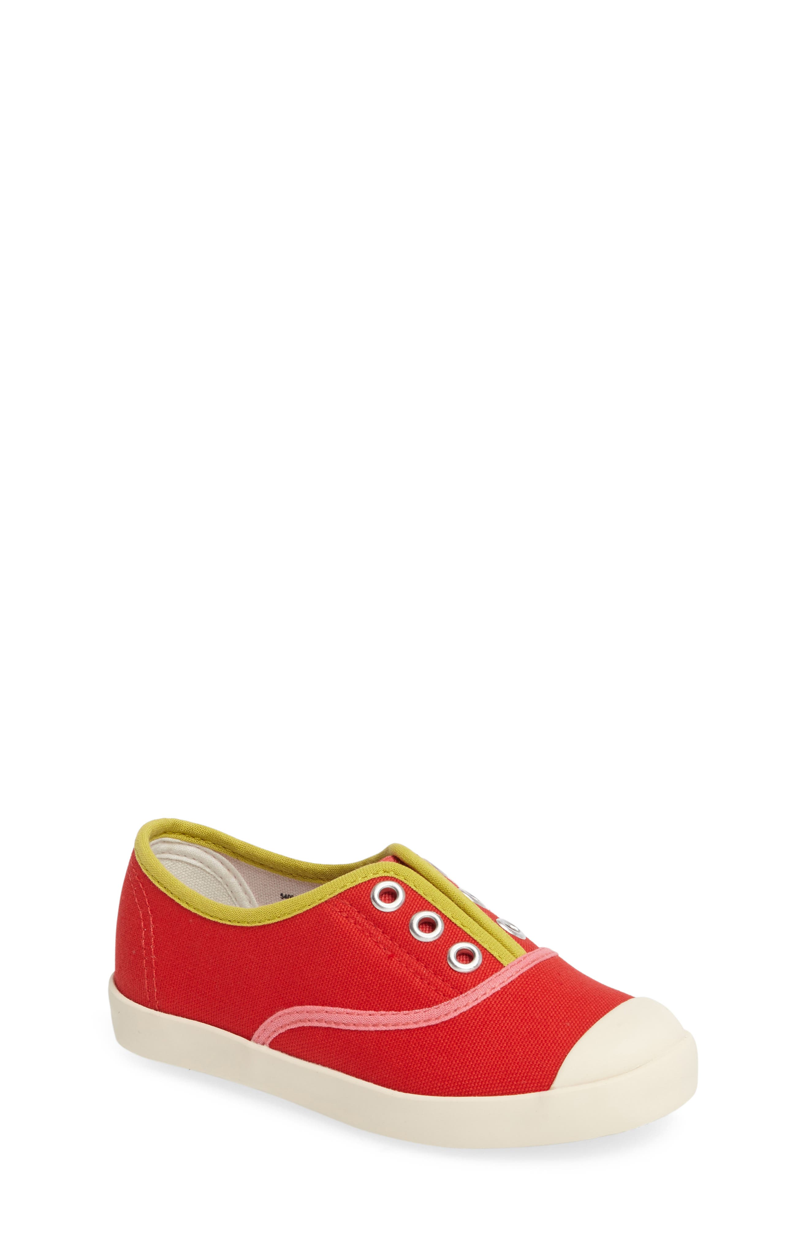 Mini Boden Laceless Slip-On Sneaker (Toddler, Little Kid & Big Kid)