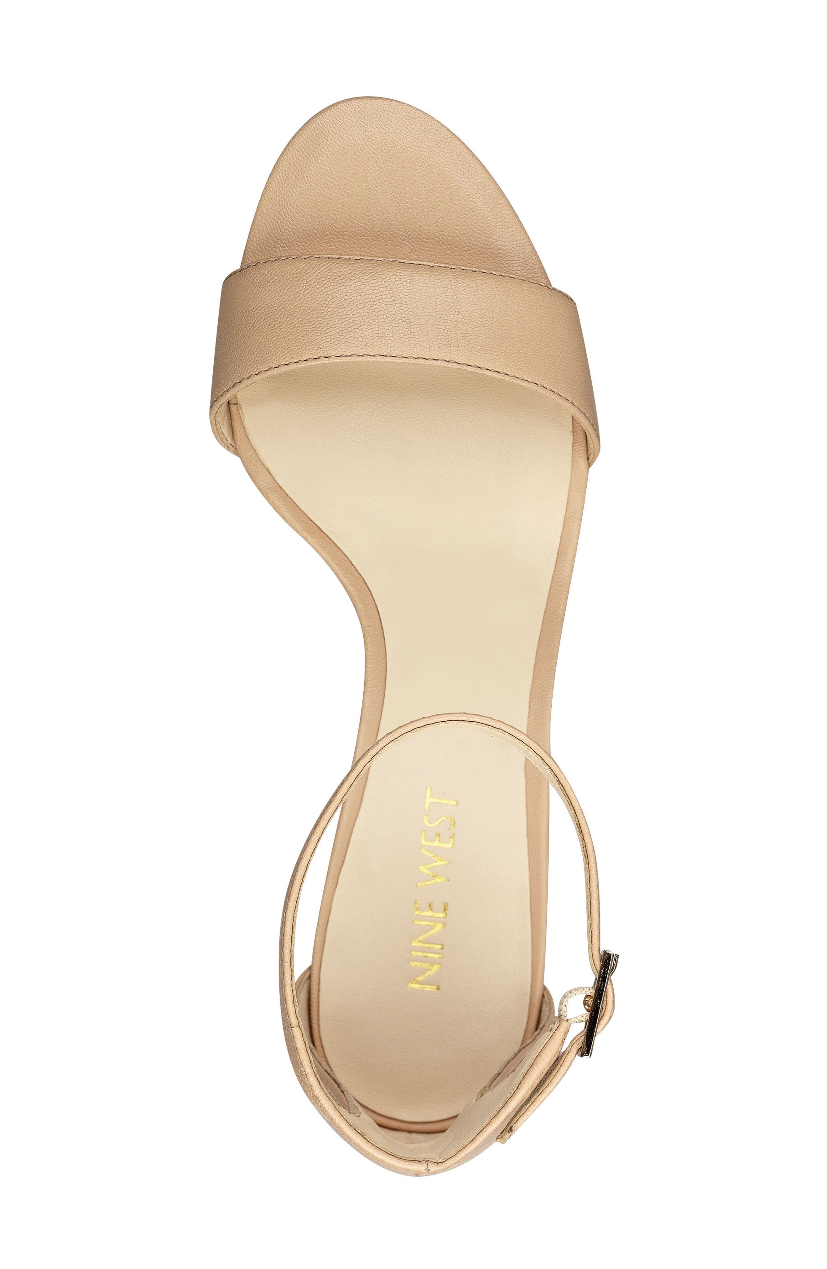 Alternate Image 4  - Nine West 'Leisa' Ankle Strap Sandal (Women)