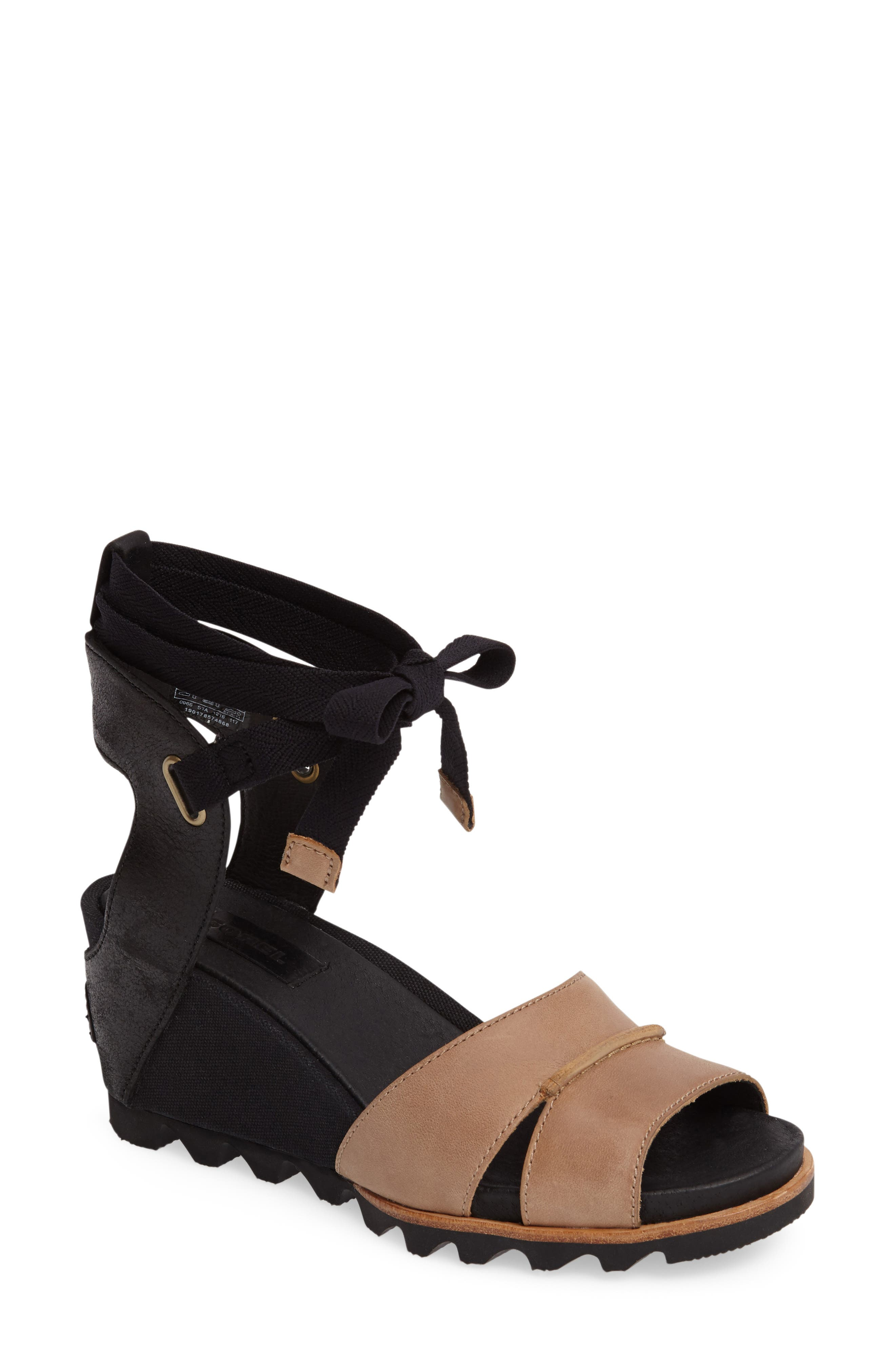 SOREL Joanie Wrap Wedge Sandal (Women)