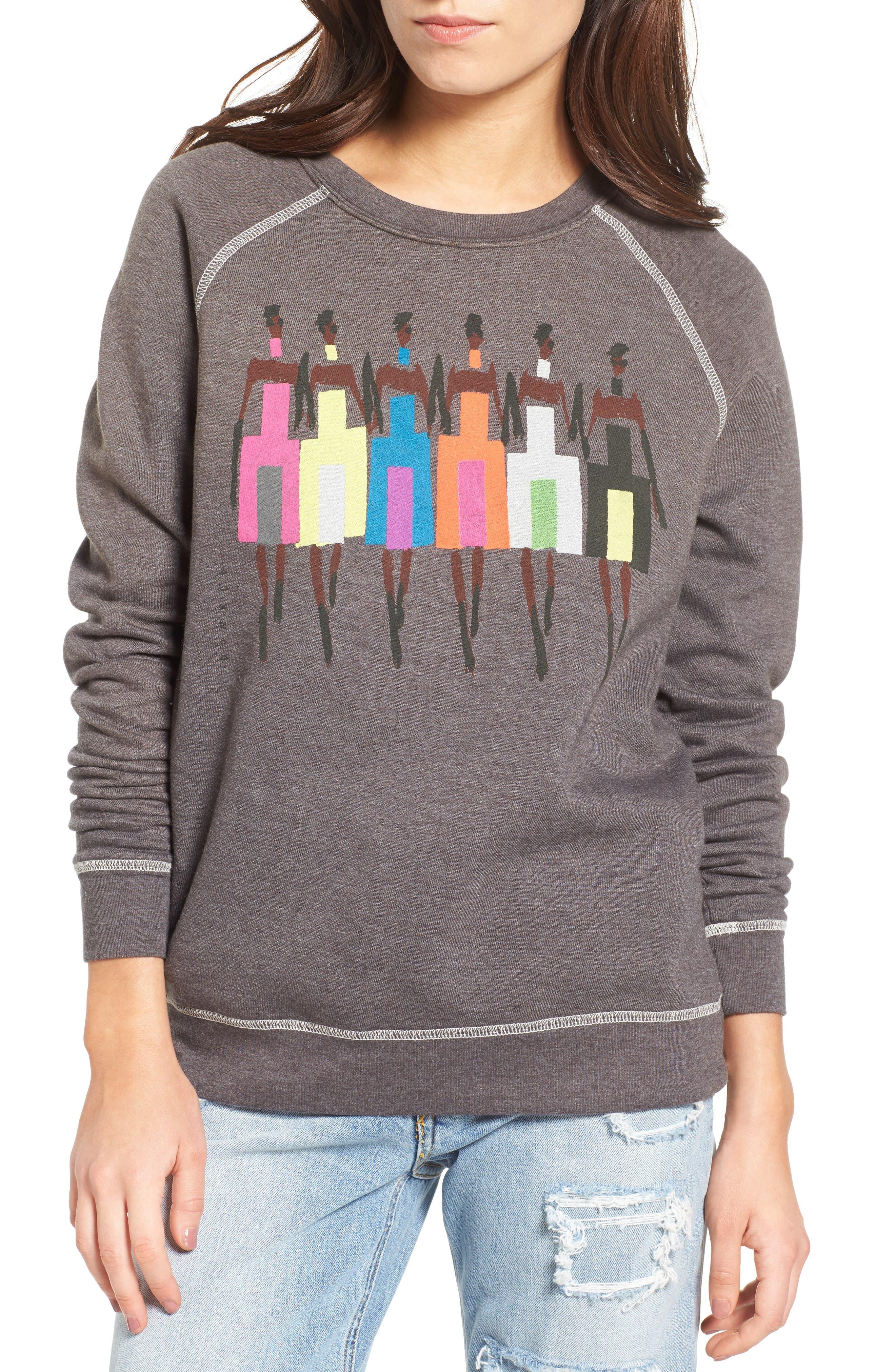 Alternate Image 1 Selected - Junk Food Donald Robertson Girls Sweatshirt
