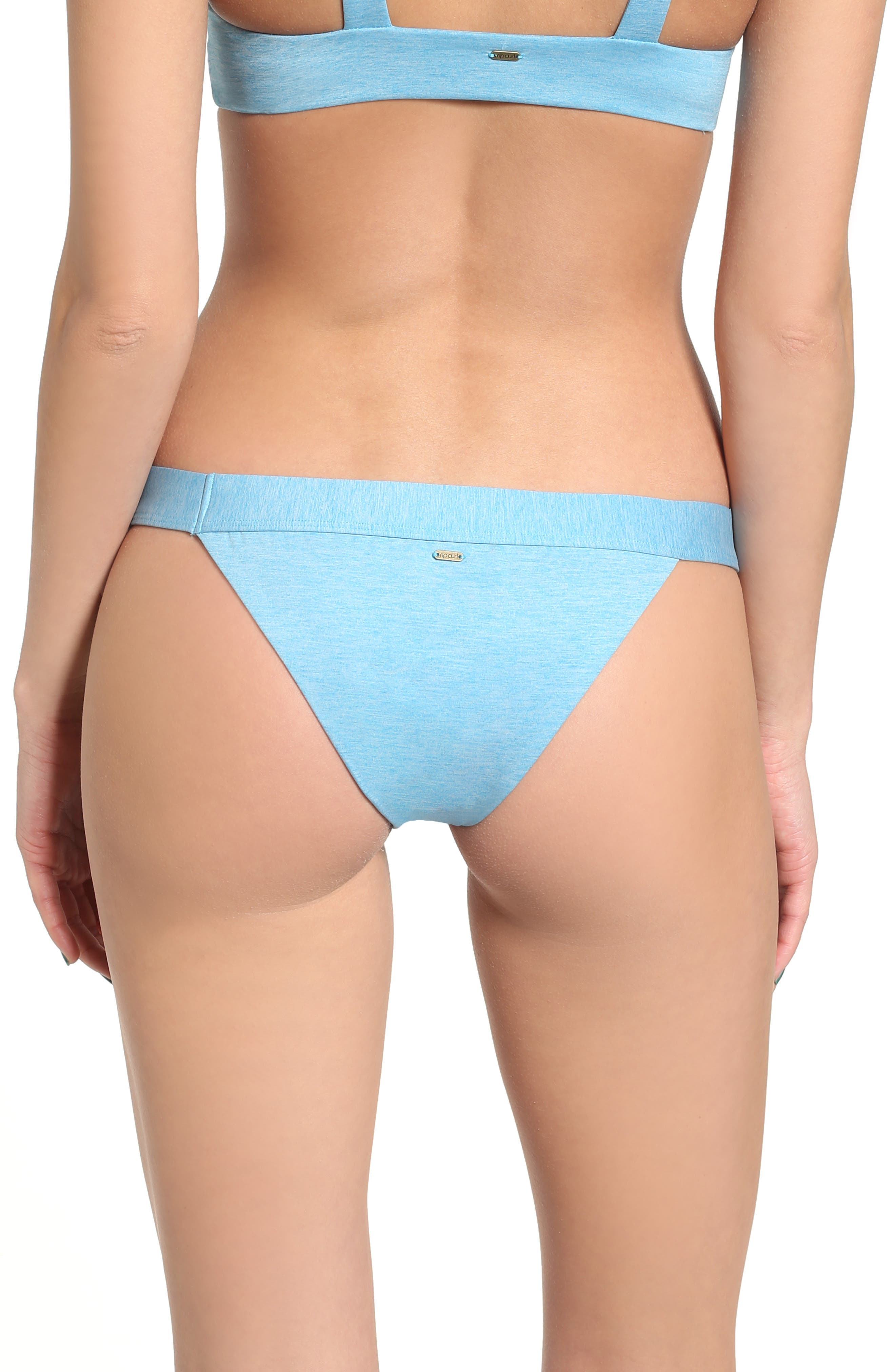 Rip Curl 'Beach Chicks' Stripe Reversible Bikini Bottoms (Juniors)