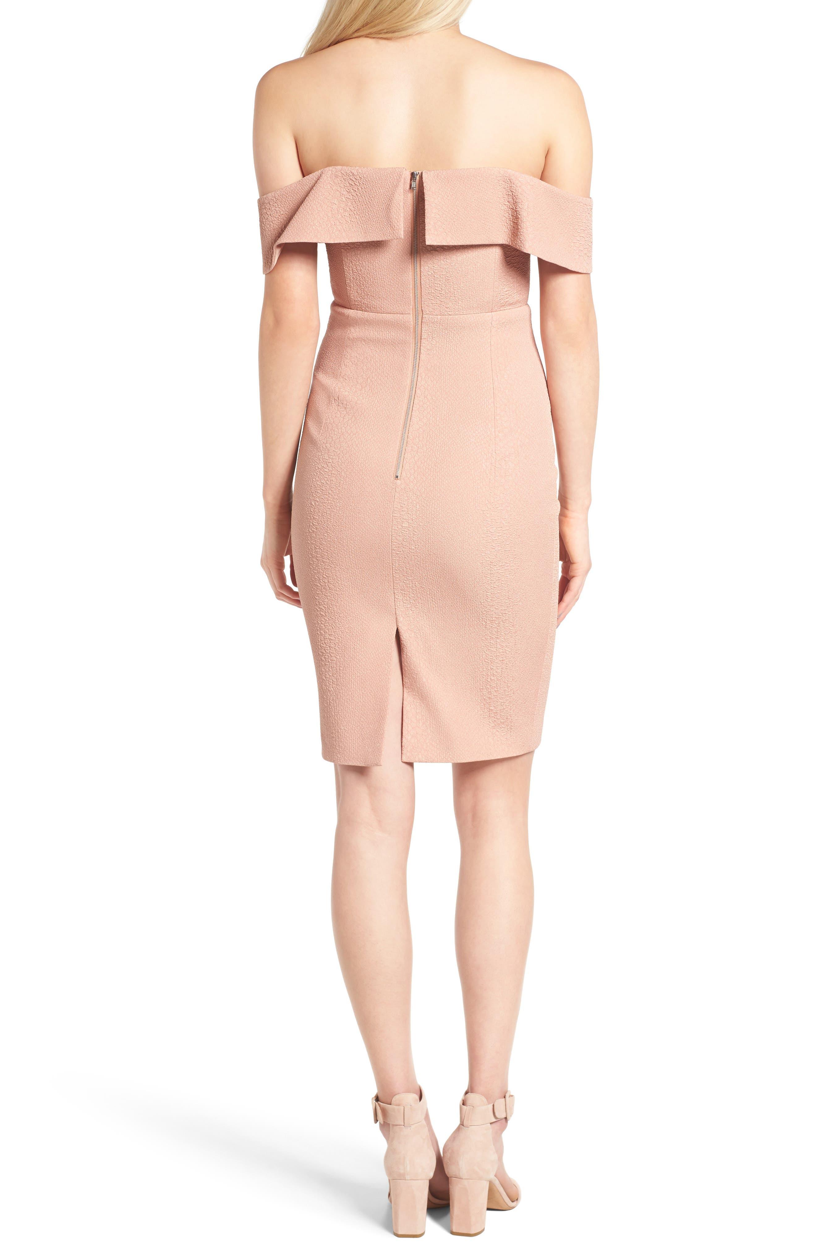 Alternate Image 3  - Bardot Eva Off the Shoulder Body-Con Dress
