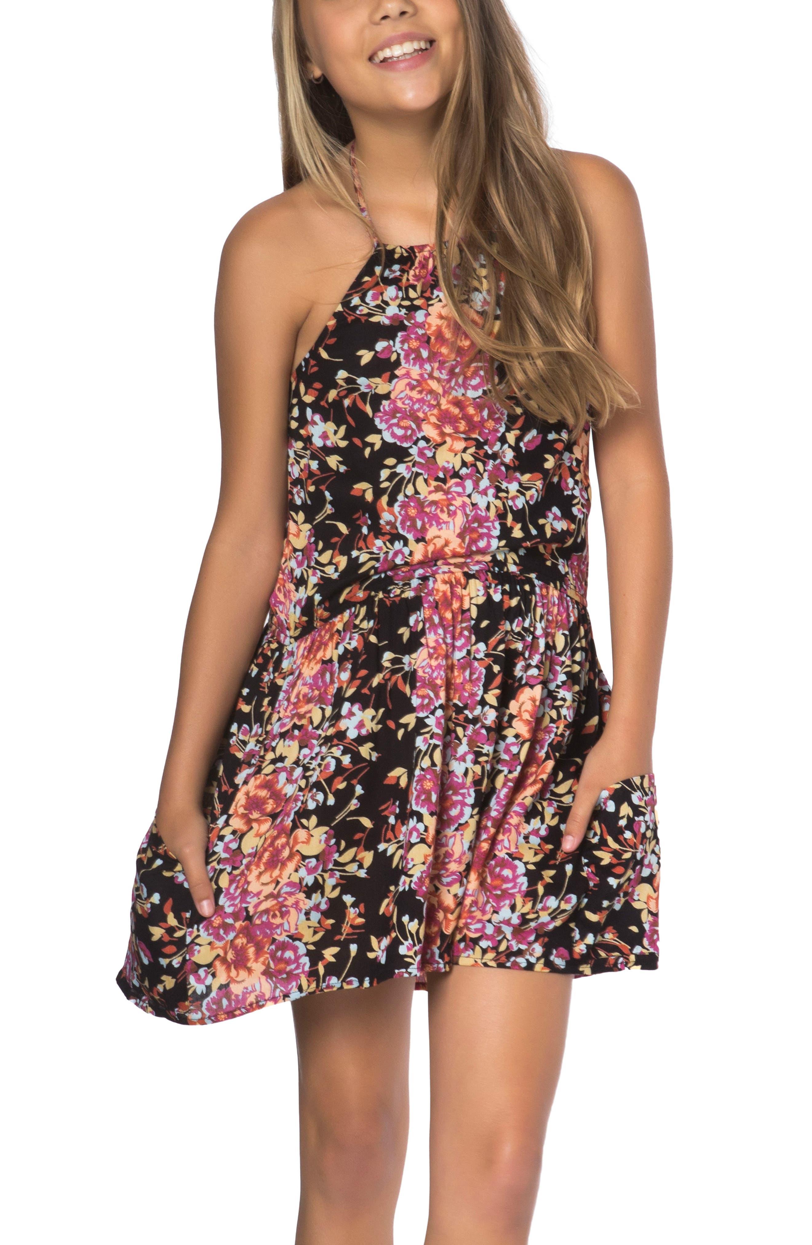 O'Neill Nadia Halter Dress (Big Girls)