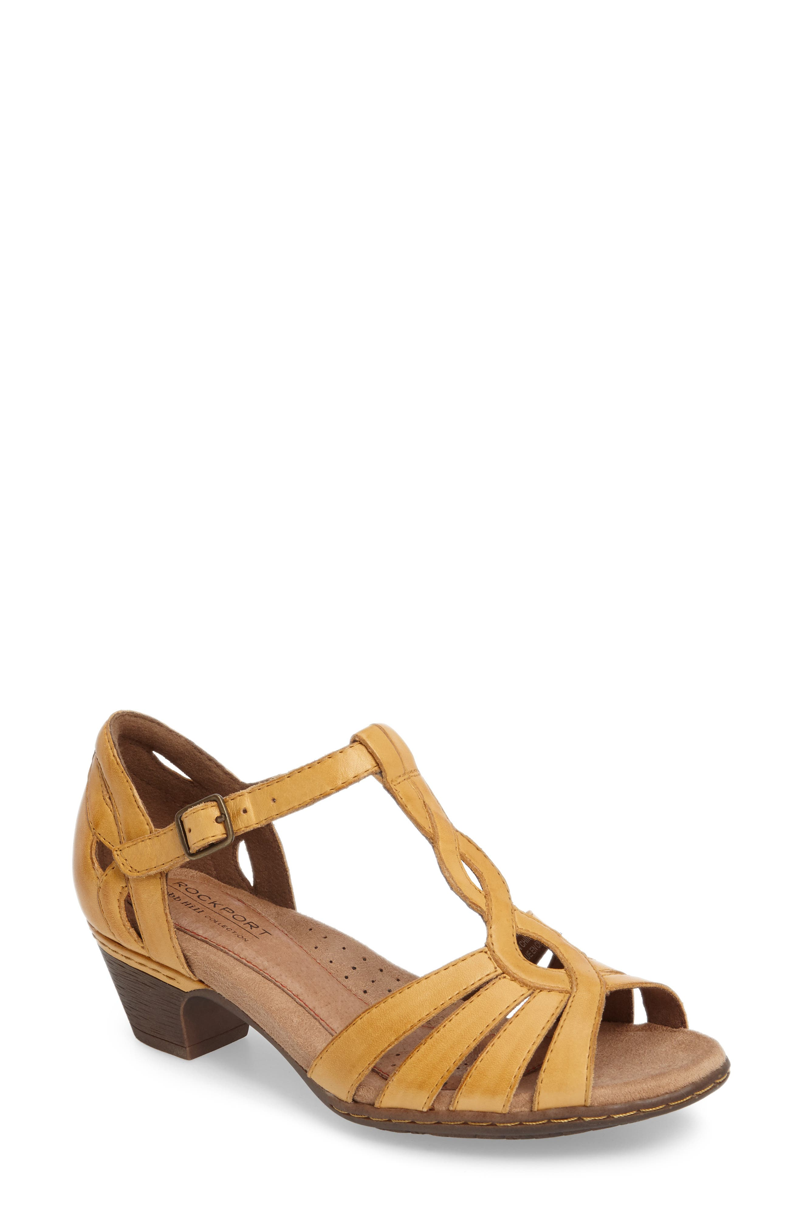 Rockport Cobb Hill Abbott T-Strap Sandal (Women)
